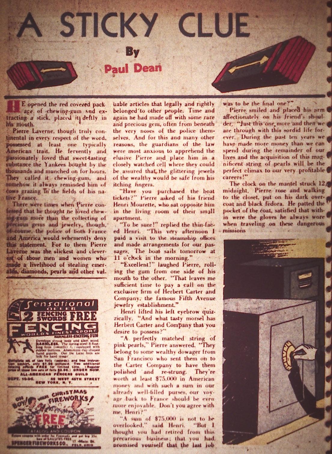 Read online Detective Comics (1937) comic -  Issue #22 - 34