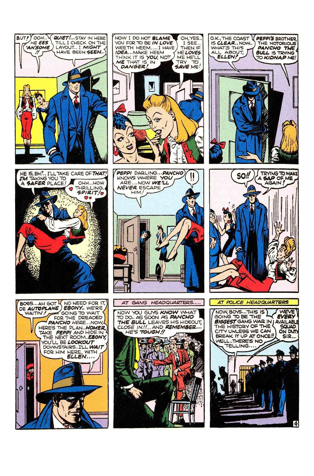 Read online Will Eisner's The Spirit Archives comic -  Issue # TPB 2 (Part 1) - 20