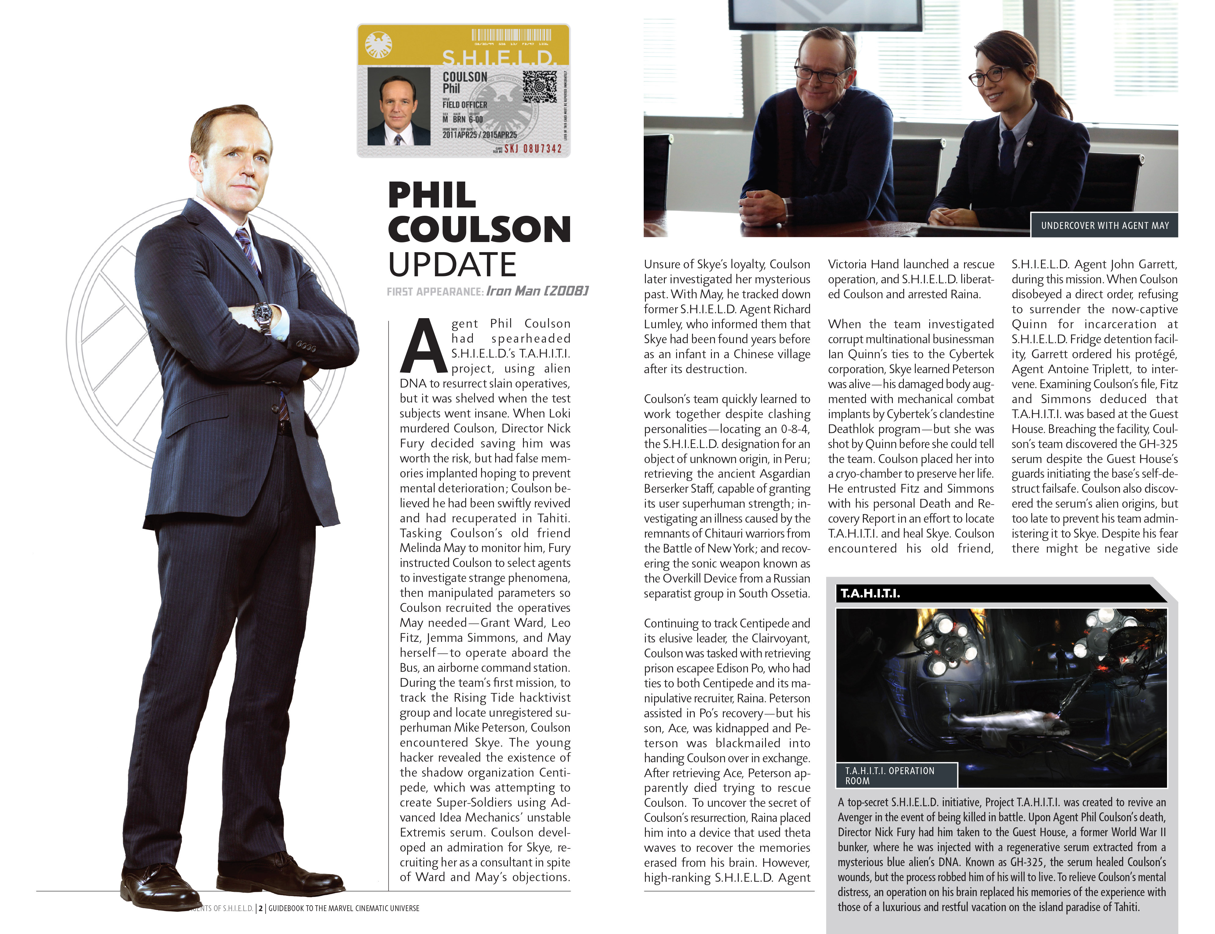 Read online Guidebook to the Marvel Cinematic Universe - Marvel's Agents of S.H.I.E.L.D. Season One comic -  Issue # Full - 4