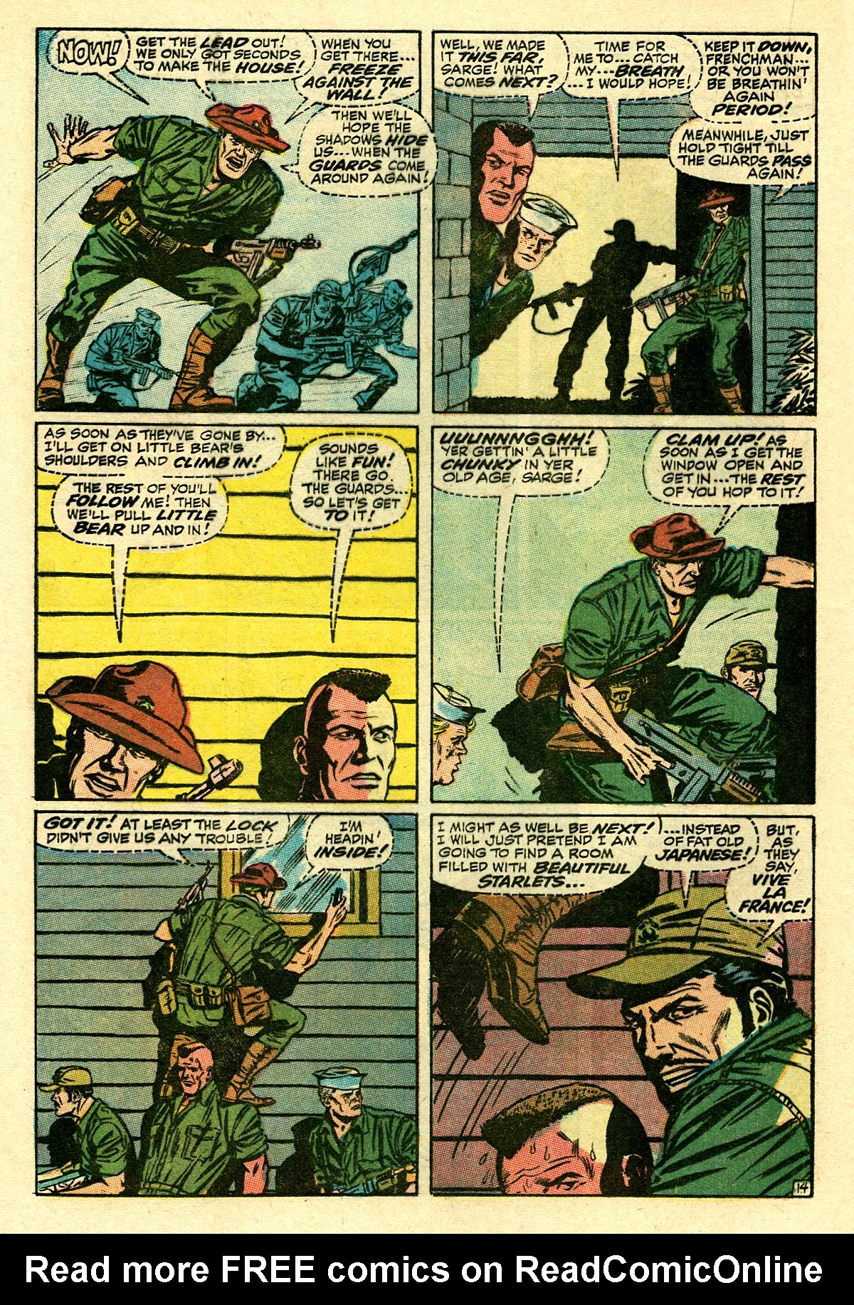 Captain Savage and his Leatherneck Raiders issue 8 - Page 20