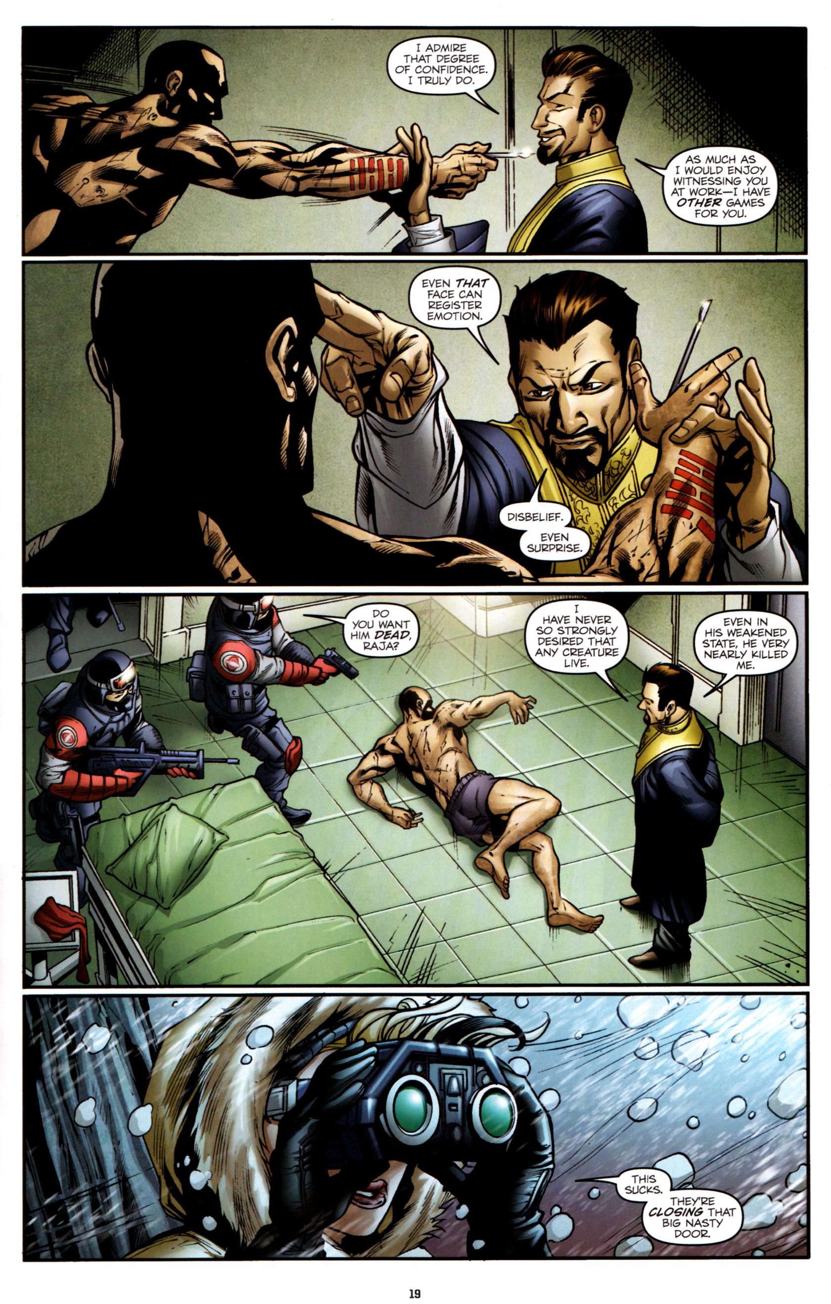 Read online G.I. Joe: Snake Eyes comic -  Issue #2 - 22