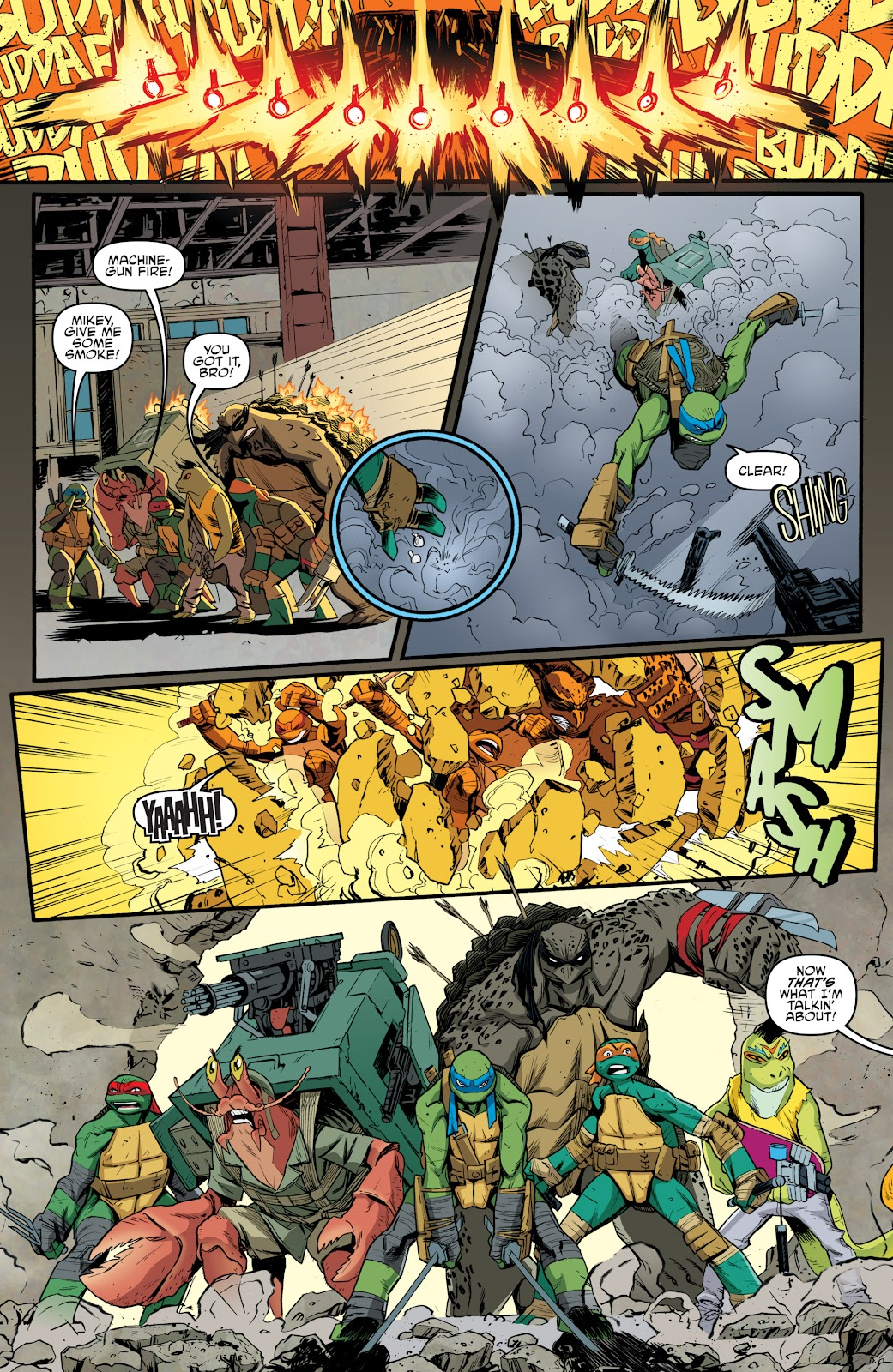Read online Teenage Mutant Ninja Turtles: The IDW Collection comic -  Issue # TPB 5 (Part 3) - 73