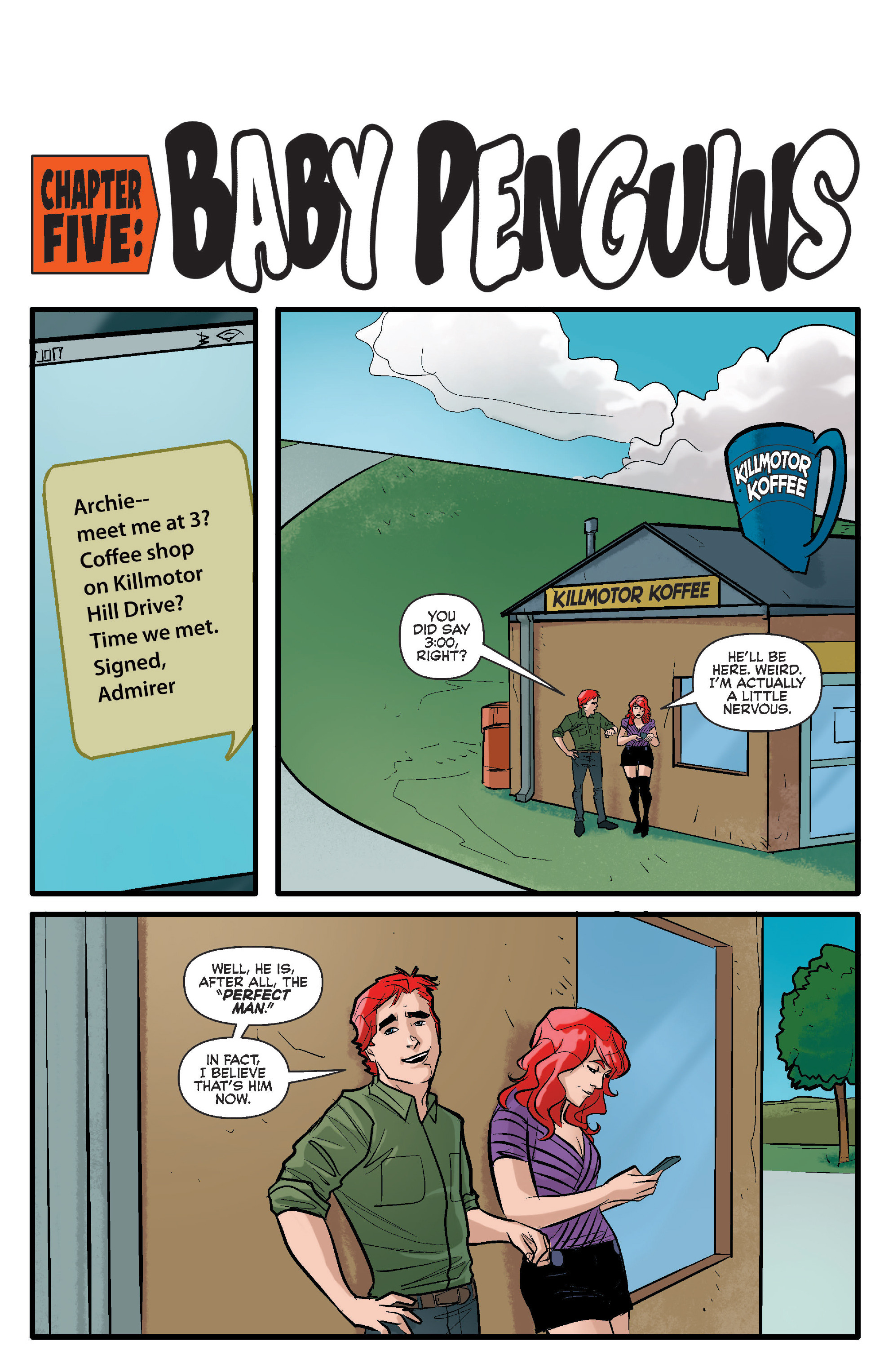 Read online Archie (2015) comic -  Issue #17 - 19
