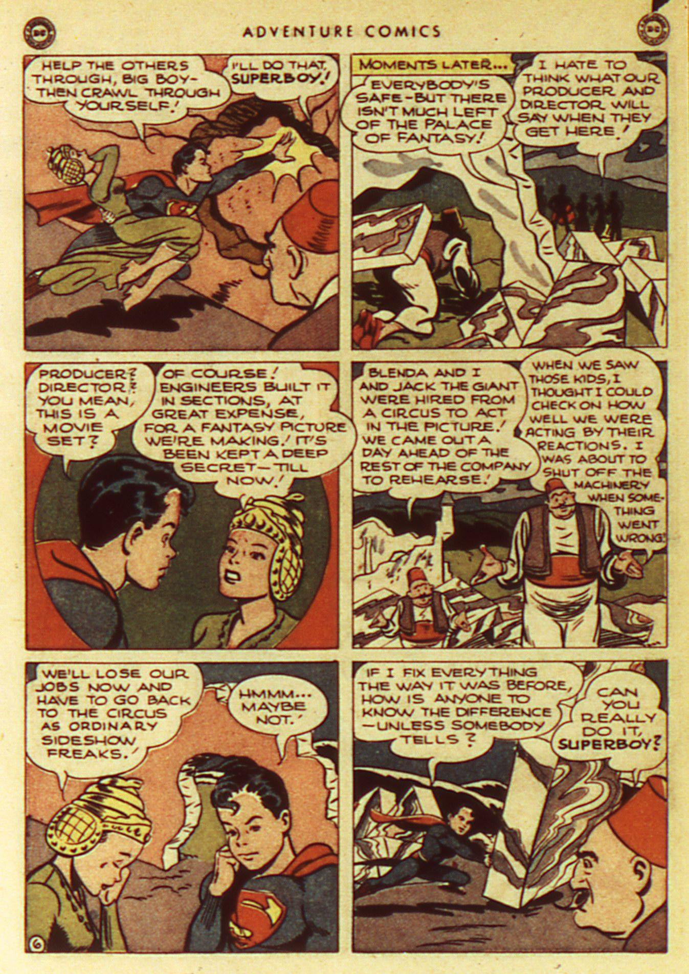 Read online Adventure Comics (1938) comic -  Issue #105 - 8