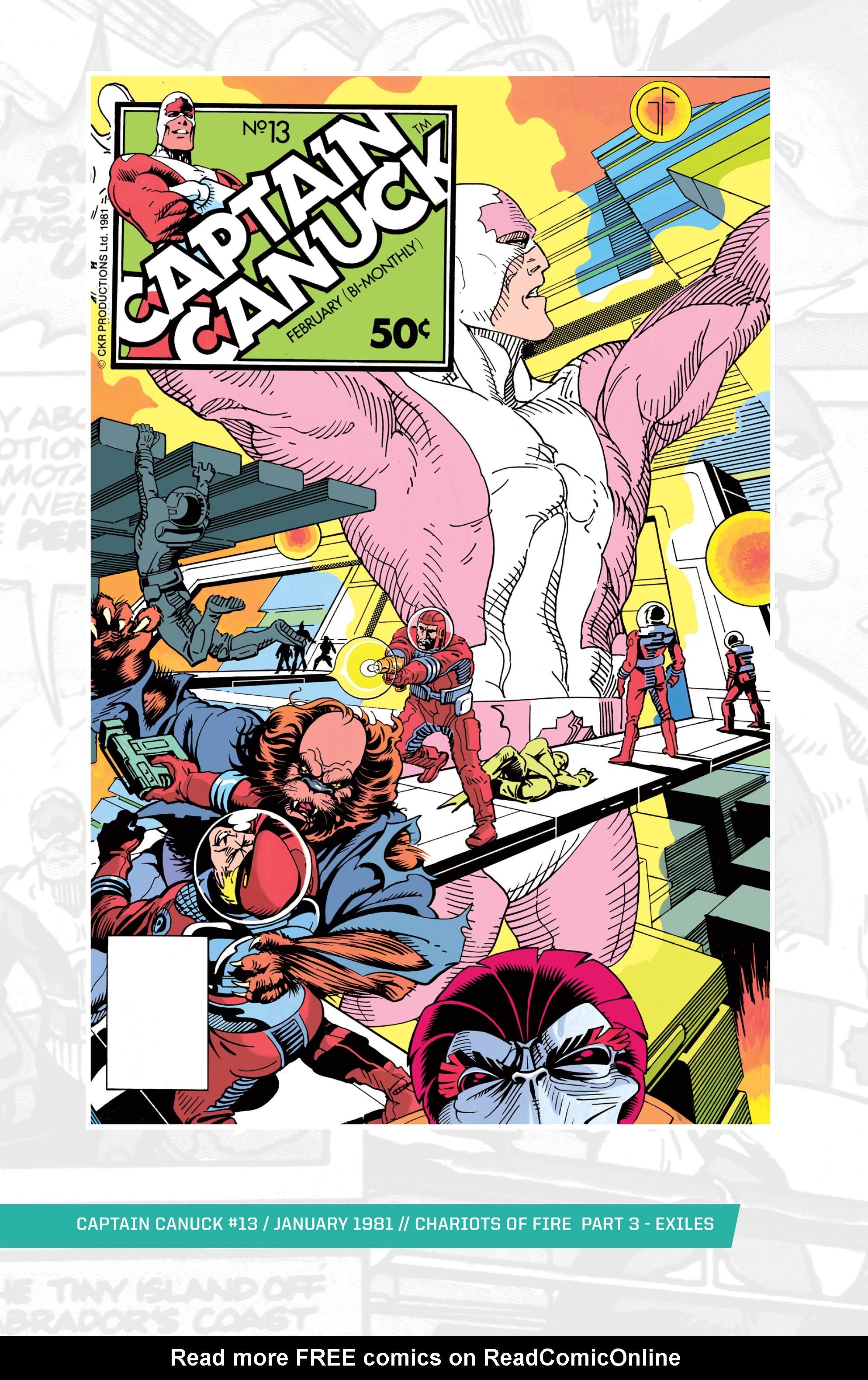 Captain Canuck (1975) 13 Page 1