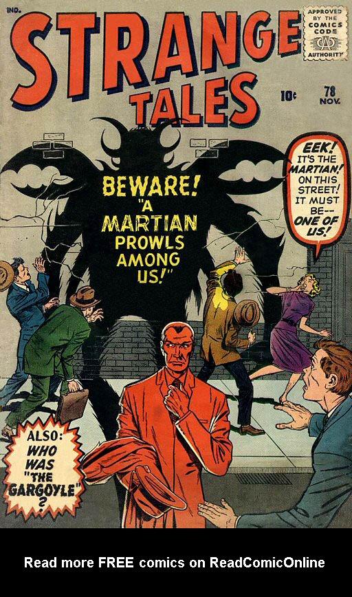 Strange Tales (1951) 78 Page 1