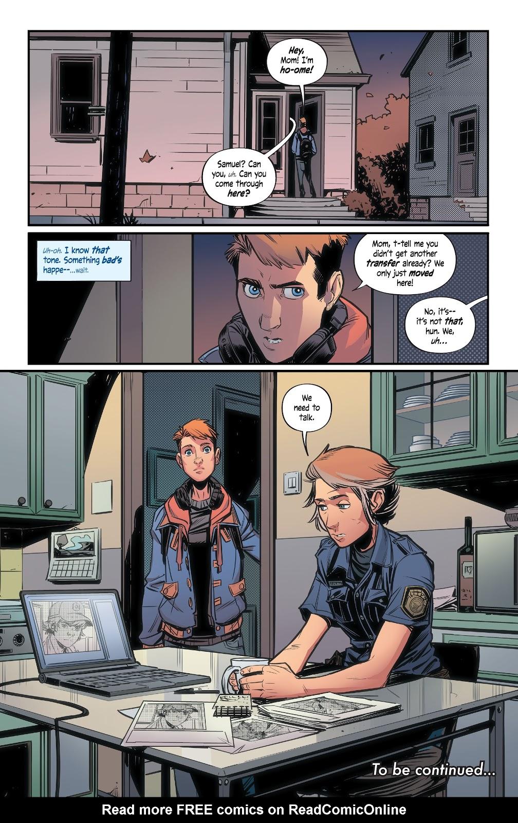 Read online Alienated comic -  Issue #2 - 23