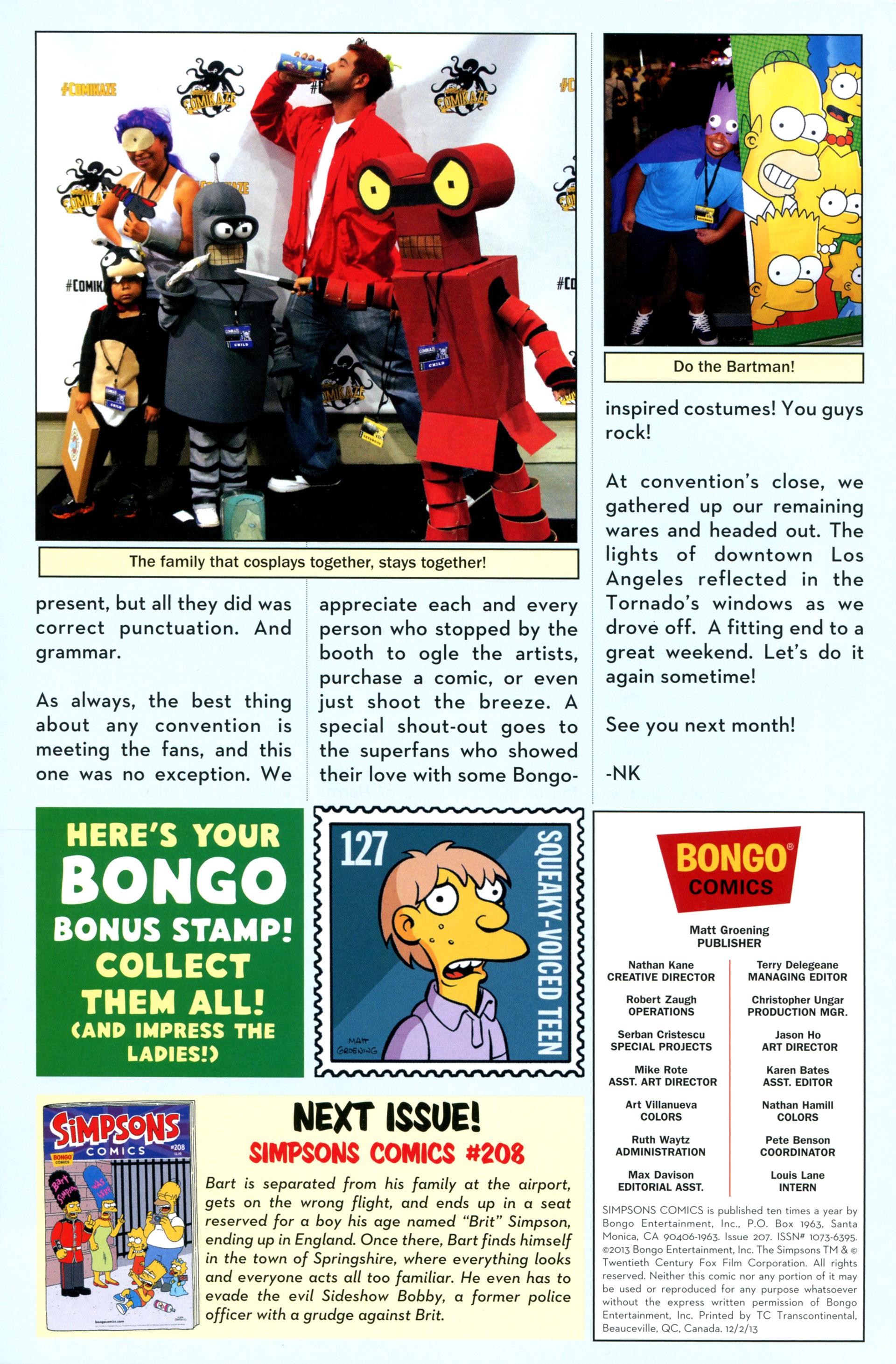 Read online Simpsons Comics comic -  Issue #207 - 28