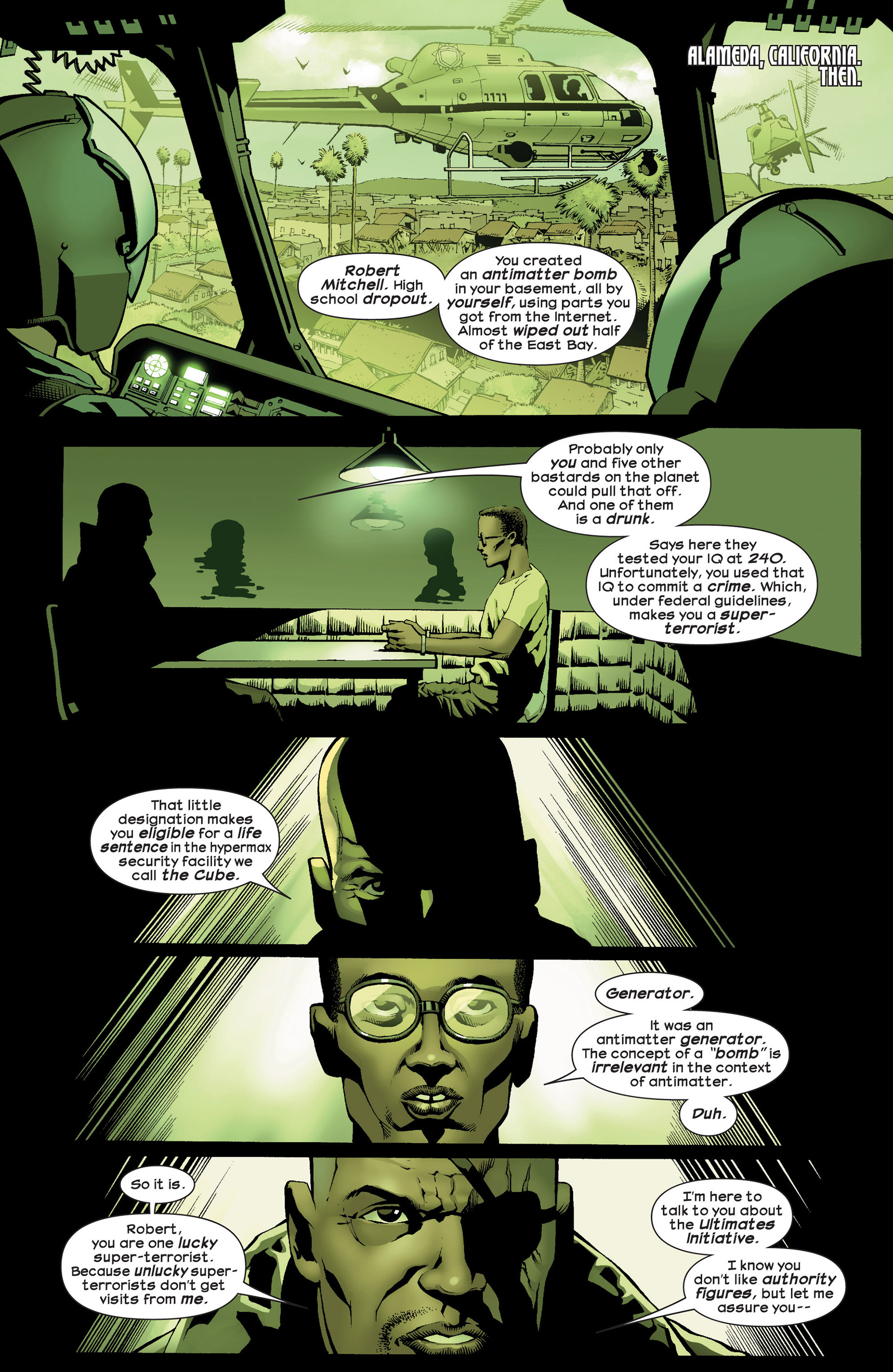 Read online Ultimate Comics Ultimates comic -  Issue #23 - 11