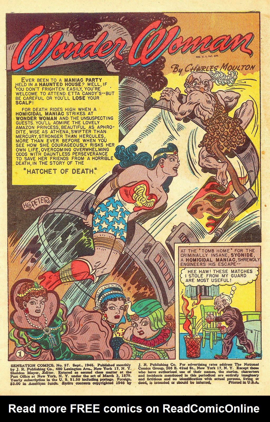 Read online Sensation (Mystery) Comics comic -  Issue #57 - 3