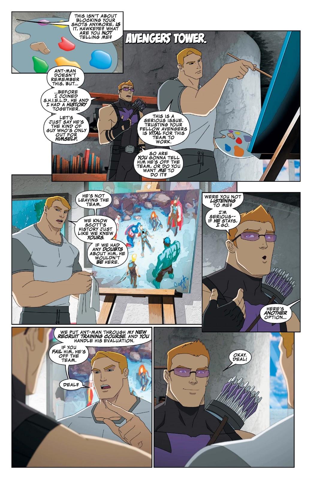 Read online Marvel Universe Avengers Assemble Season 2 comic -  Issue #9 - 7