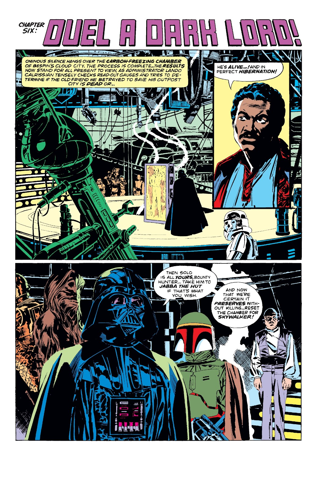 Read online Star Wars Legends: The Original Marvel Years - Epic Collection comic -  Issue # TPB 3 (Part 1) - 98
