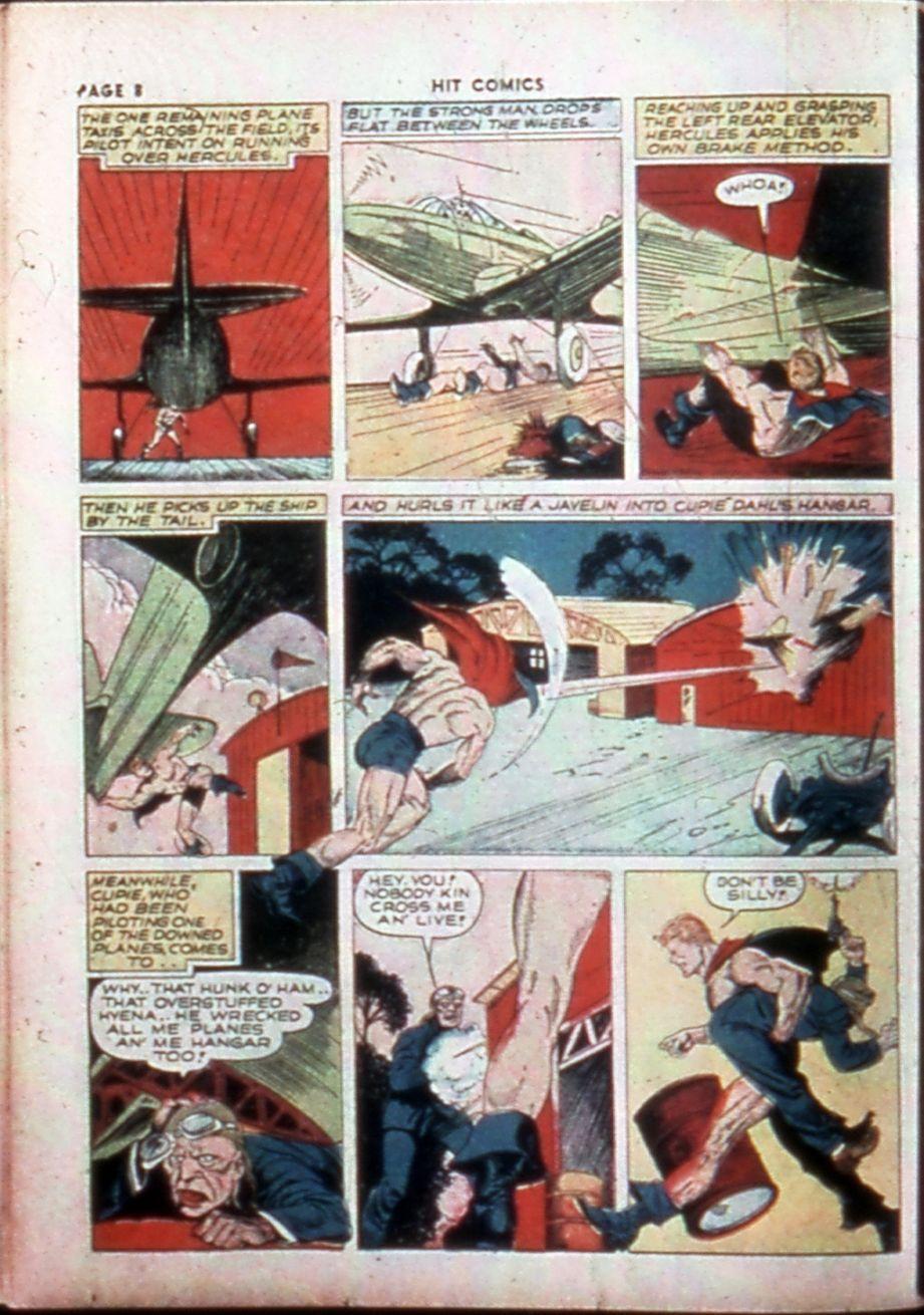 Read online Hit Comics comic -  Issue #14 - 10