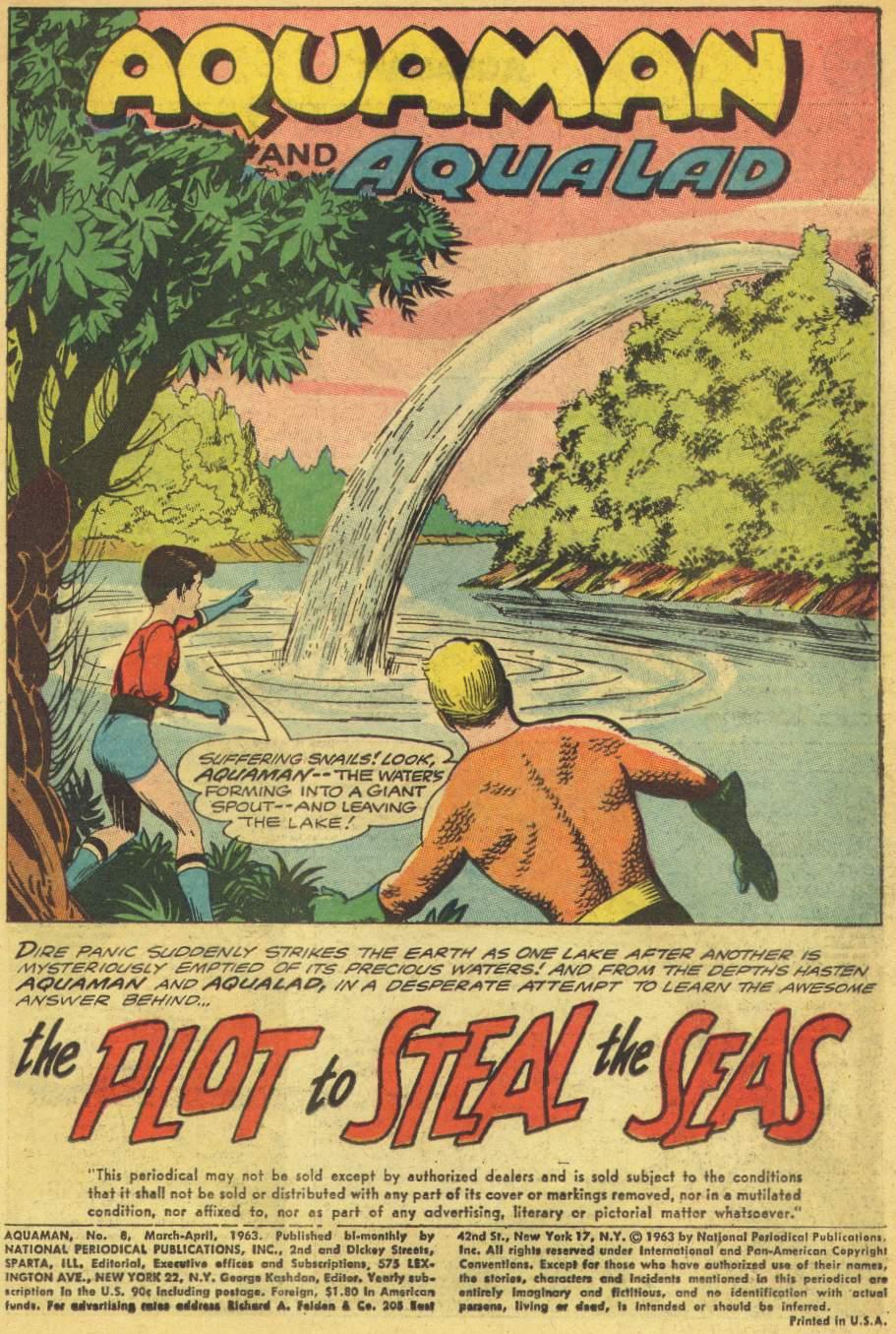 Read online Aquaman (1962) comic -  Issue #8 - 3