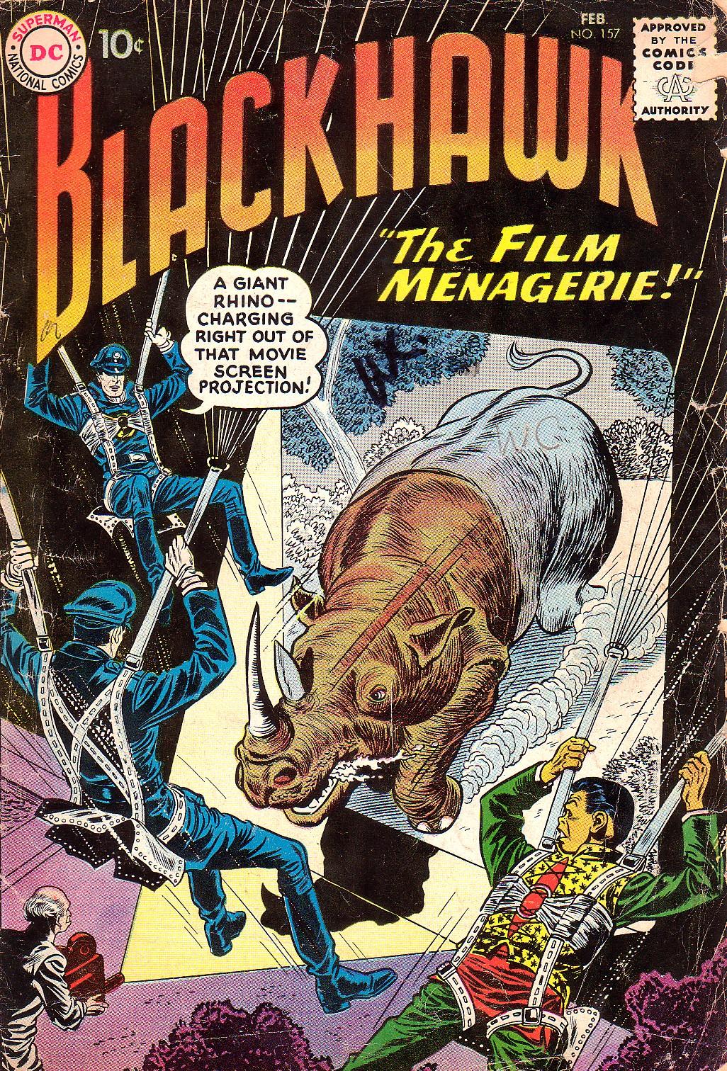 Blackhawk (1957) 157 Page 1