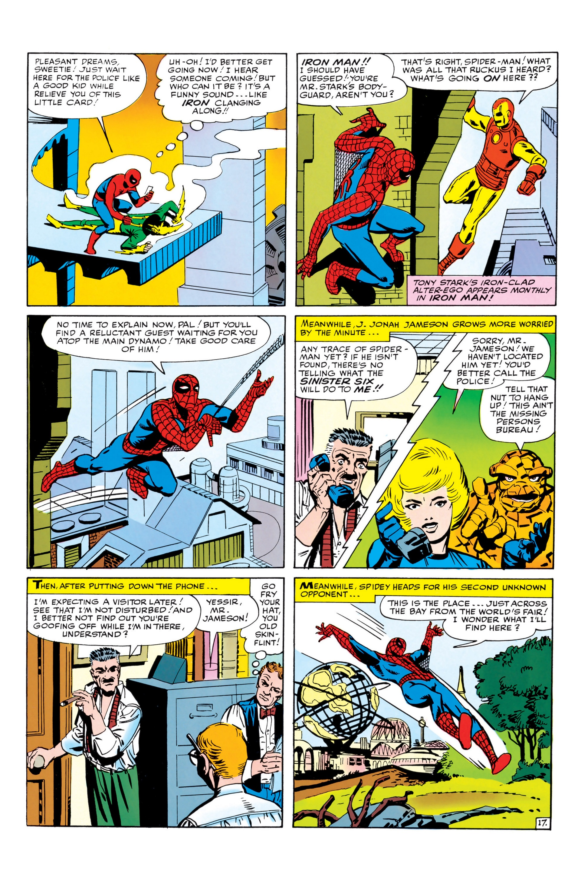 The Amazing Spider-Man (1963) _Annual_1 Page 17
