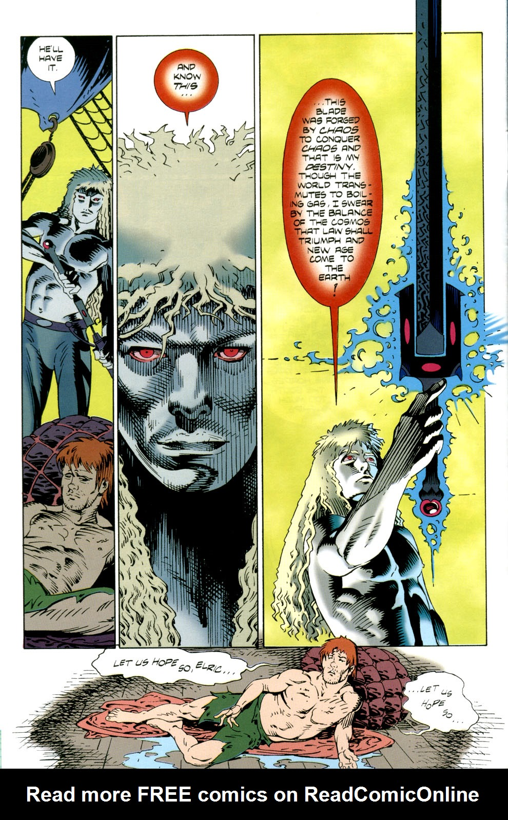 Read online Elric: Stormbringer comic -  Issue #4 - 10