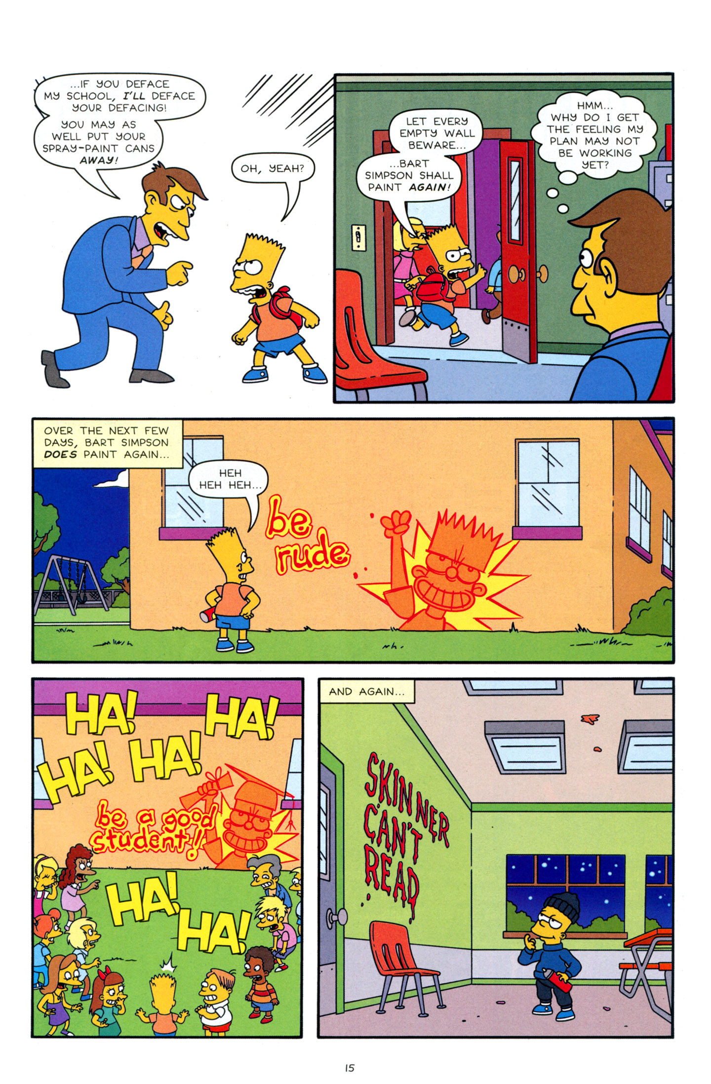 Read online Simpsons Comics Presents Bart Simpson comic -  Issue #63 - 17
