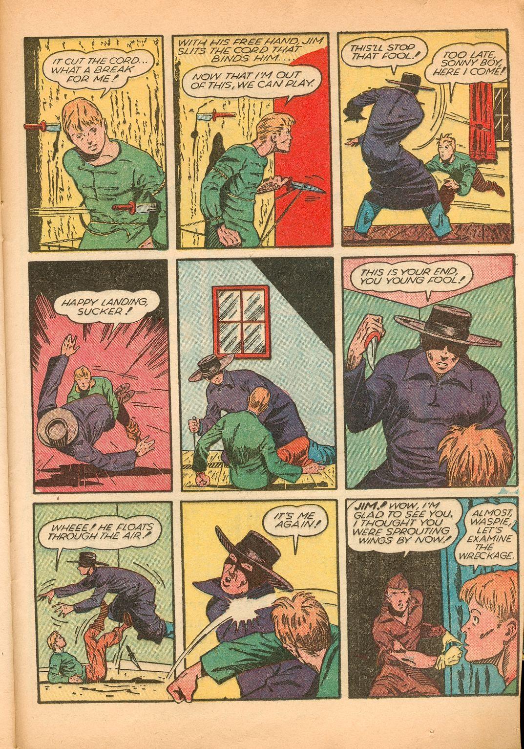 Read online Shadow Comics comic -  Issue #11 - 47
