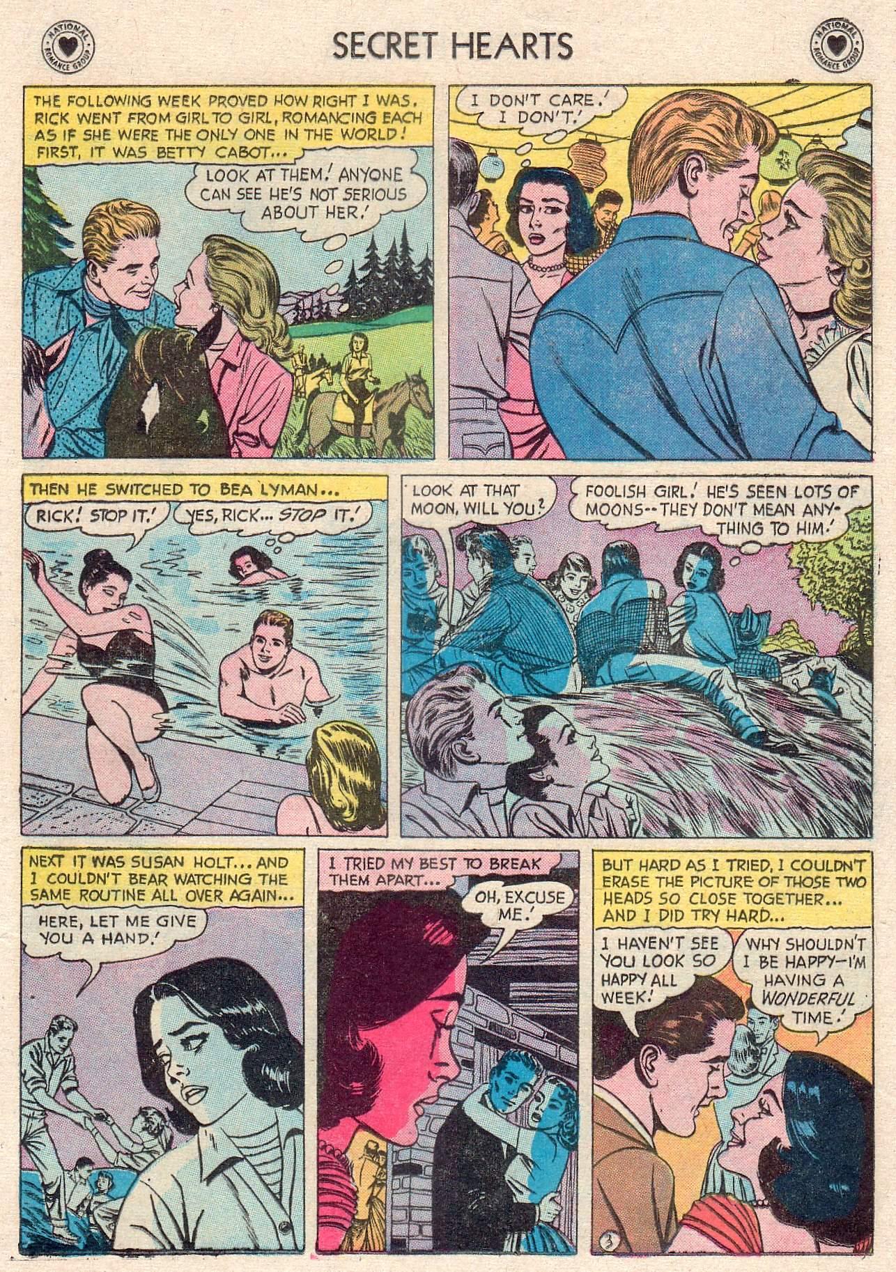 Read online Secret Hearts comic -  Issue #46 - 21