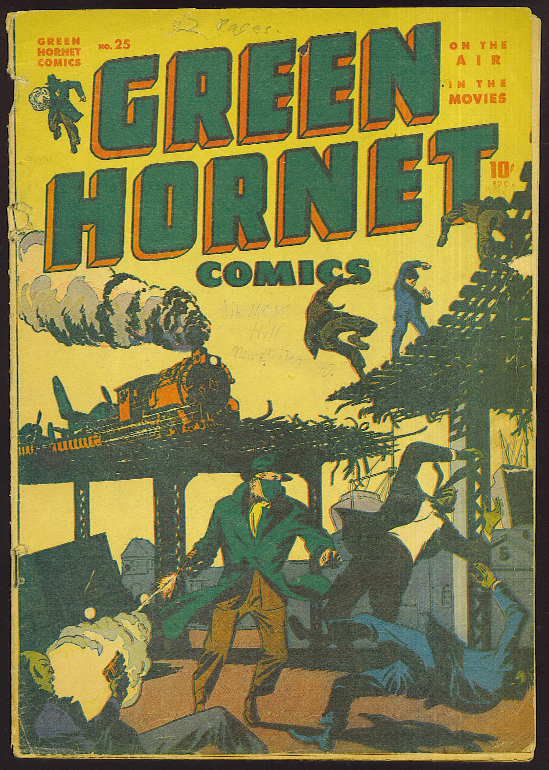 Green Hornet Comics issue 25 - Page 1