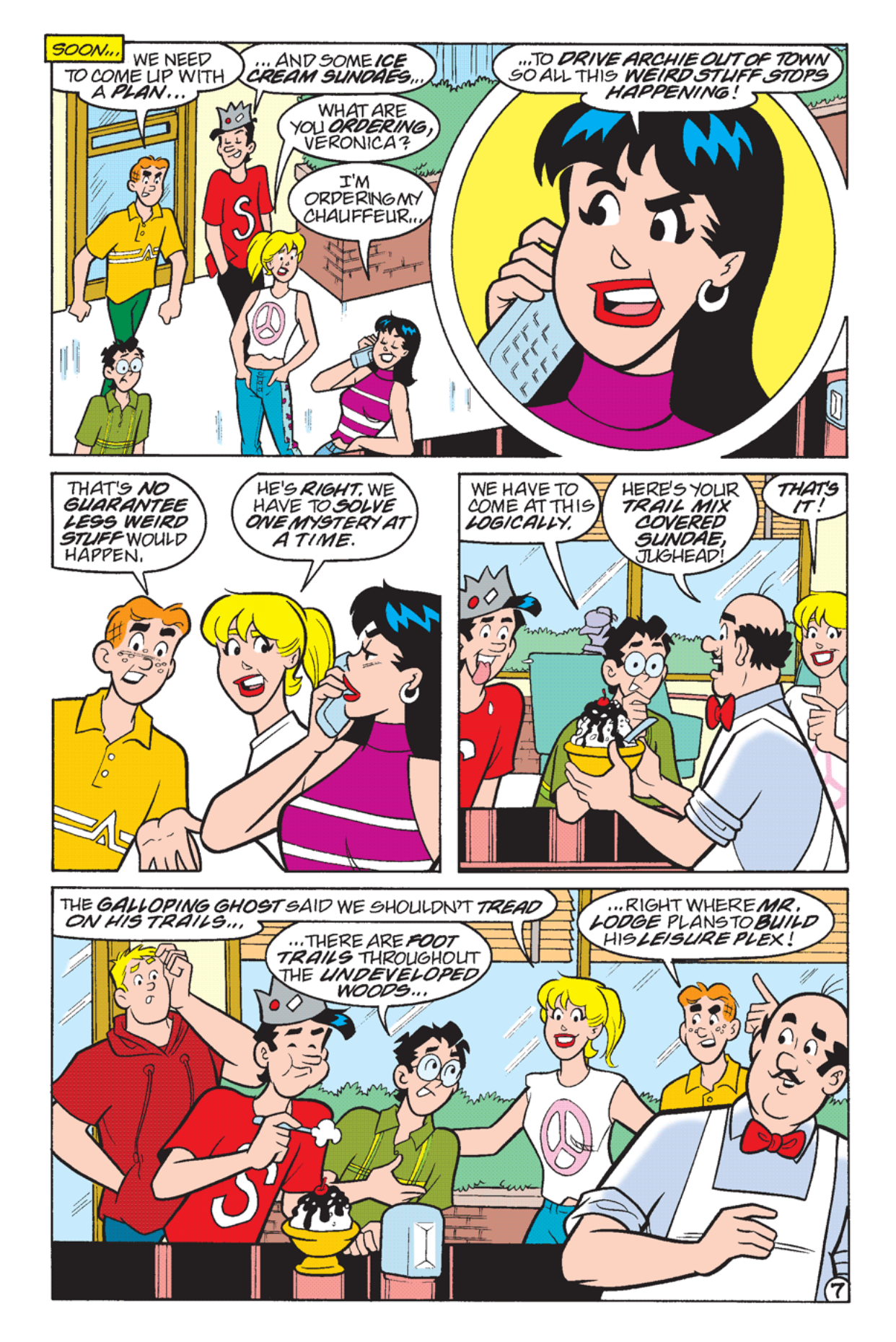 Read online Archie's Weird Mysteries comic -  Issue #23 - 9