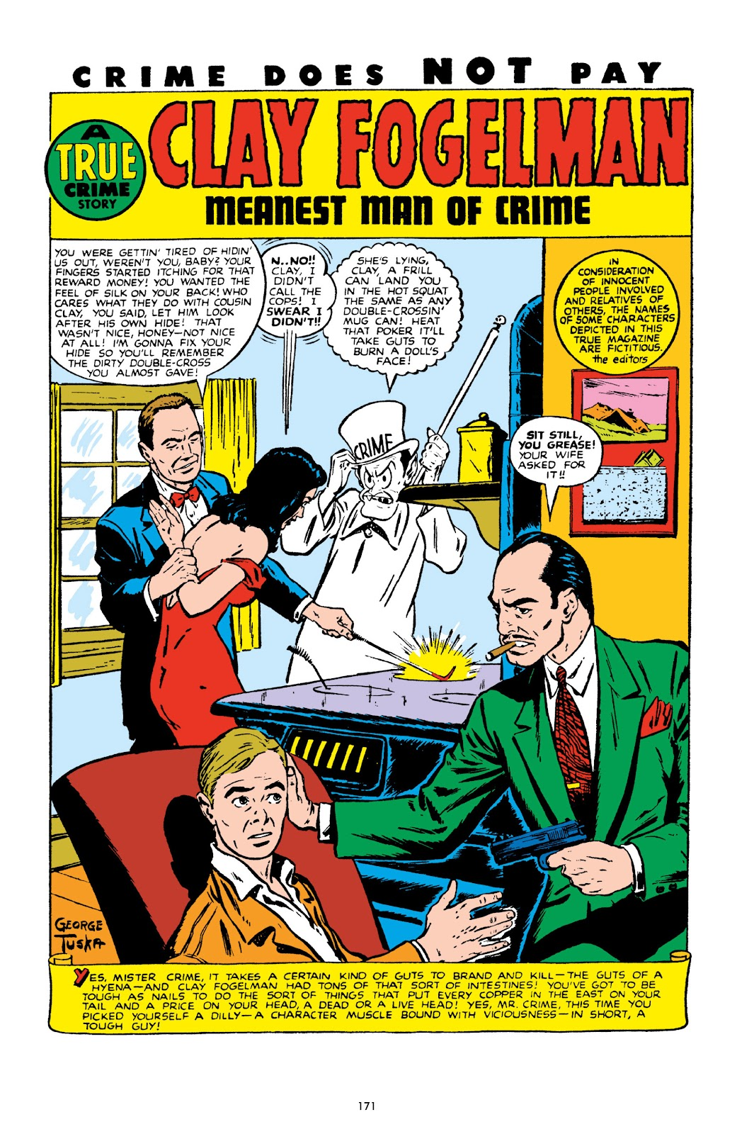 Read online Crime Does Not Pay Archives comic -  Issue # TPB 10 (Part 2) - 72