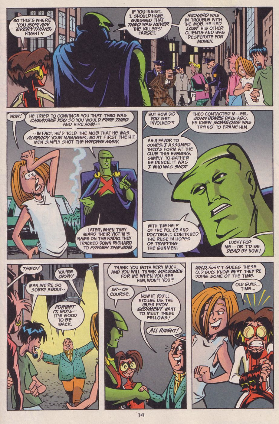 Read online Adventures in the DC Universe comic -  Issue #13 - 15