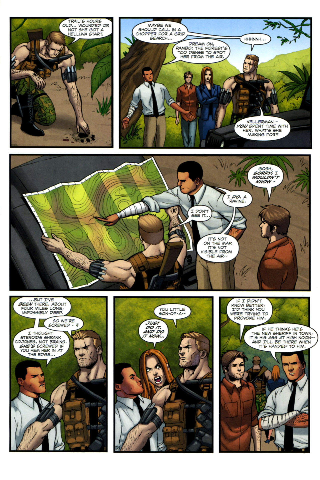 Read online Sheena, Queen of the Jungle comic -  Issue #4 - 13