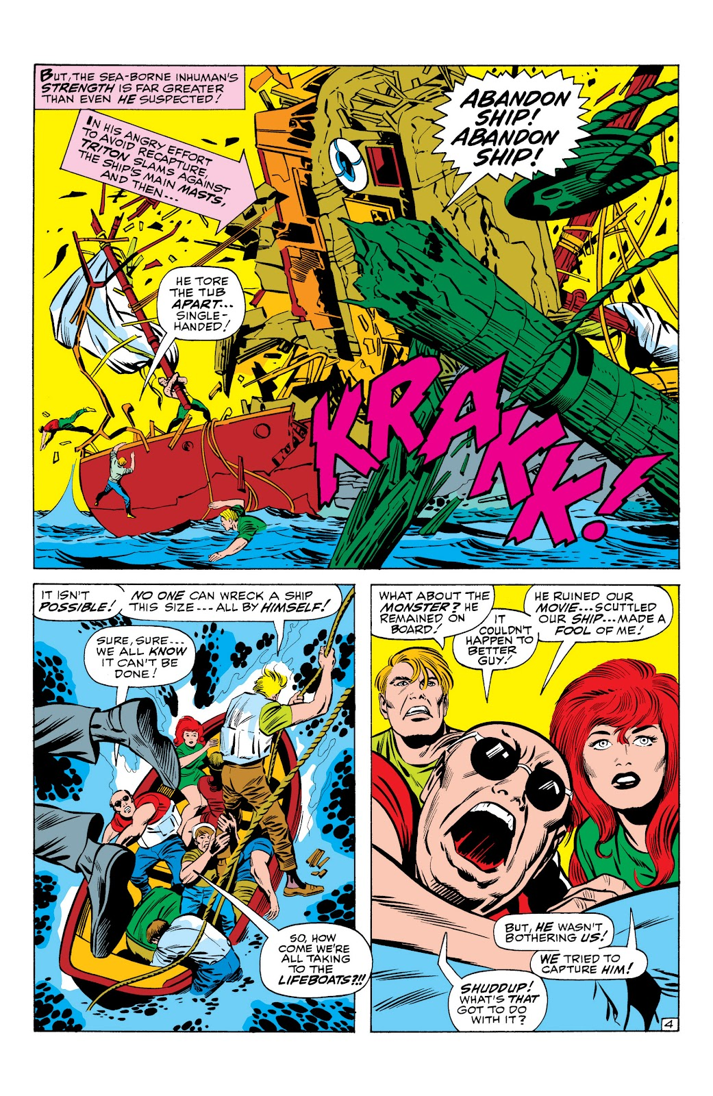 Read online Marvel Masterworks: The Inhumans comic -  Issue # TPB 1 (Part 1) - 36