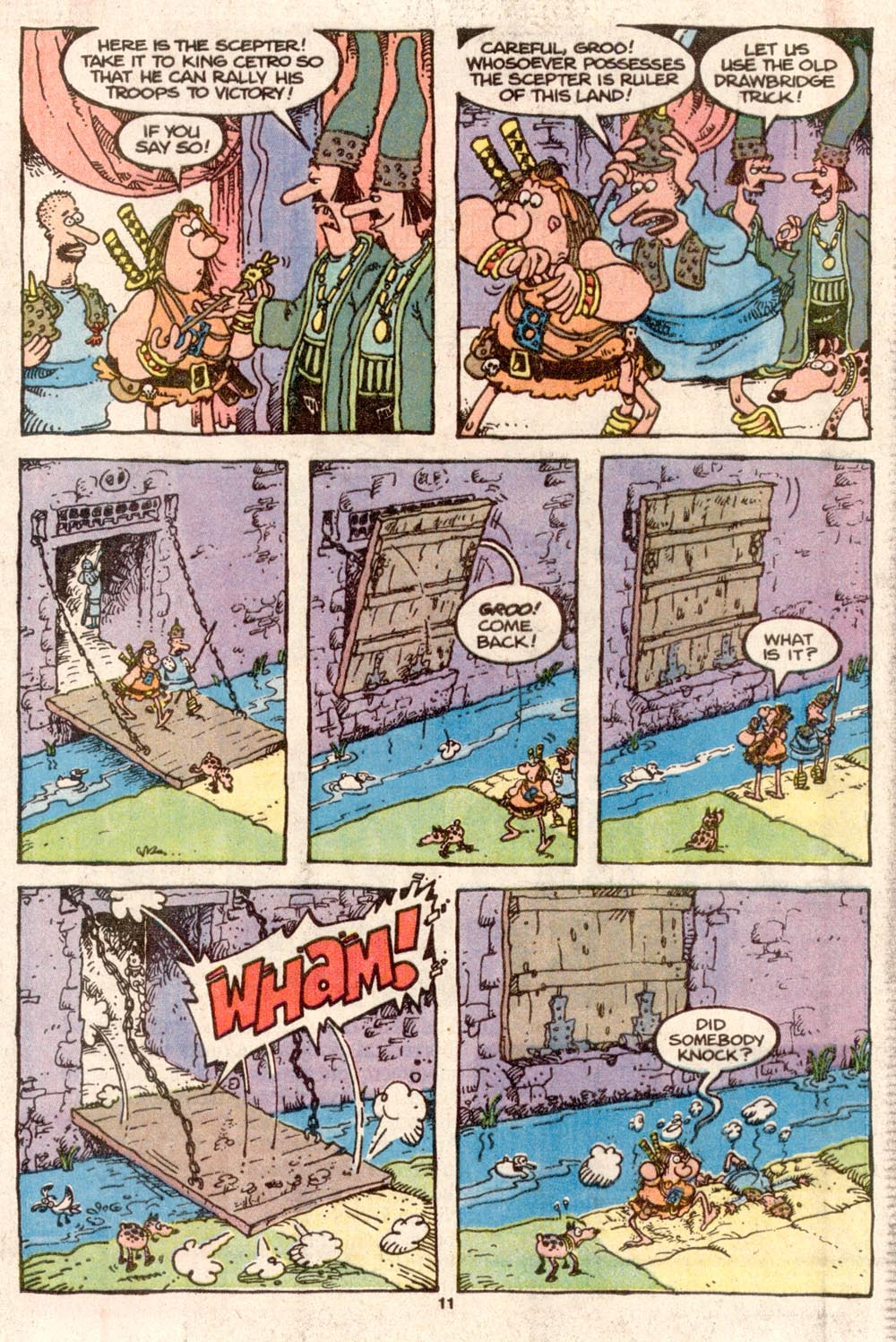 Read online Sergio Aragonés Groo the Wanderer comic -  Issue #73 - 9