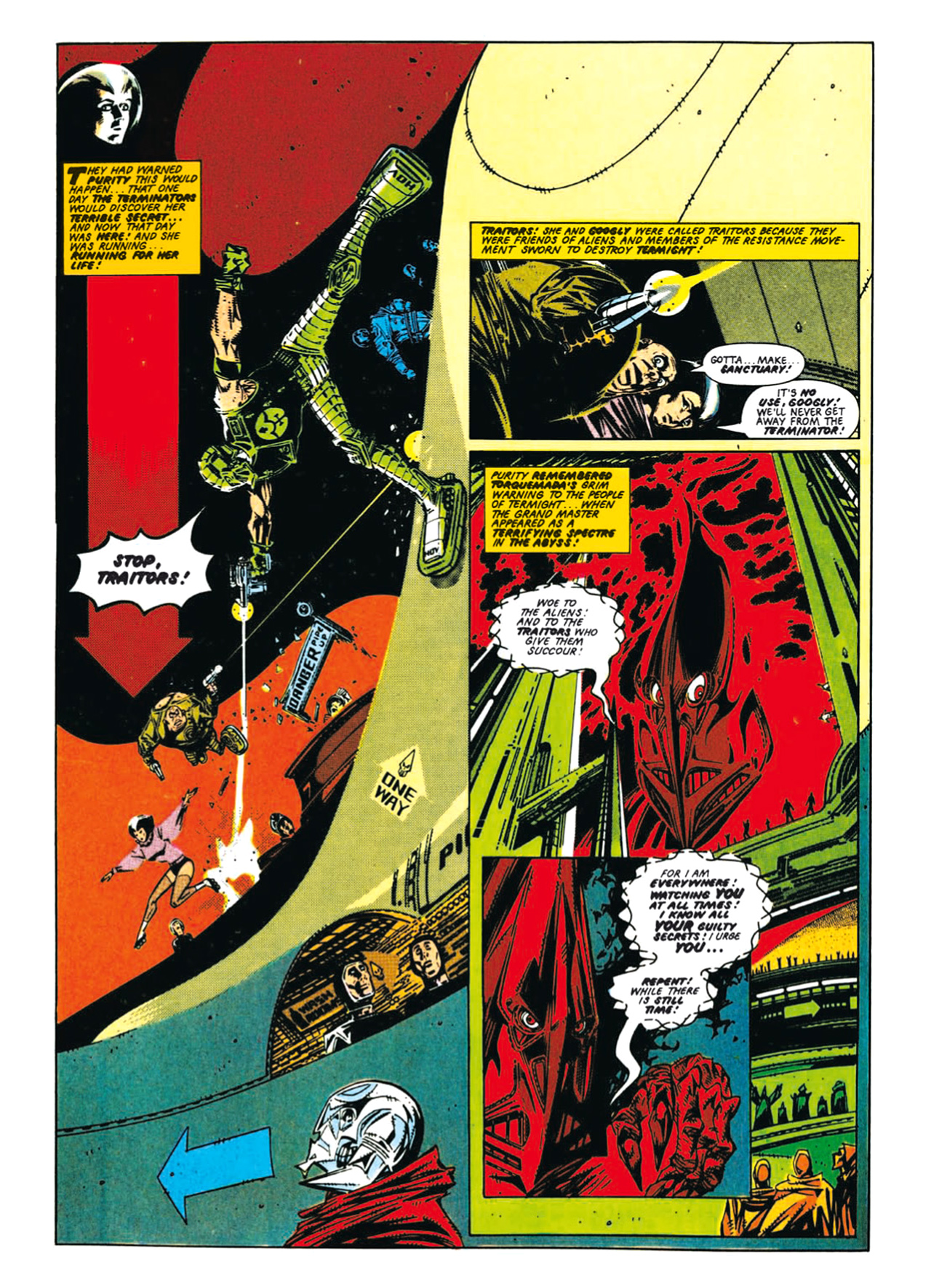 Read online Nemesis The Warlock comic -  Issue # TPB Deviant Edition - 38