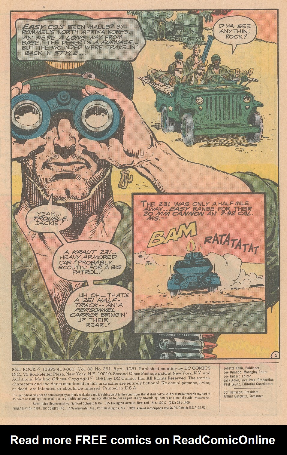 Sgt. Rock issue 351 - Page 2