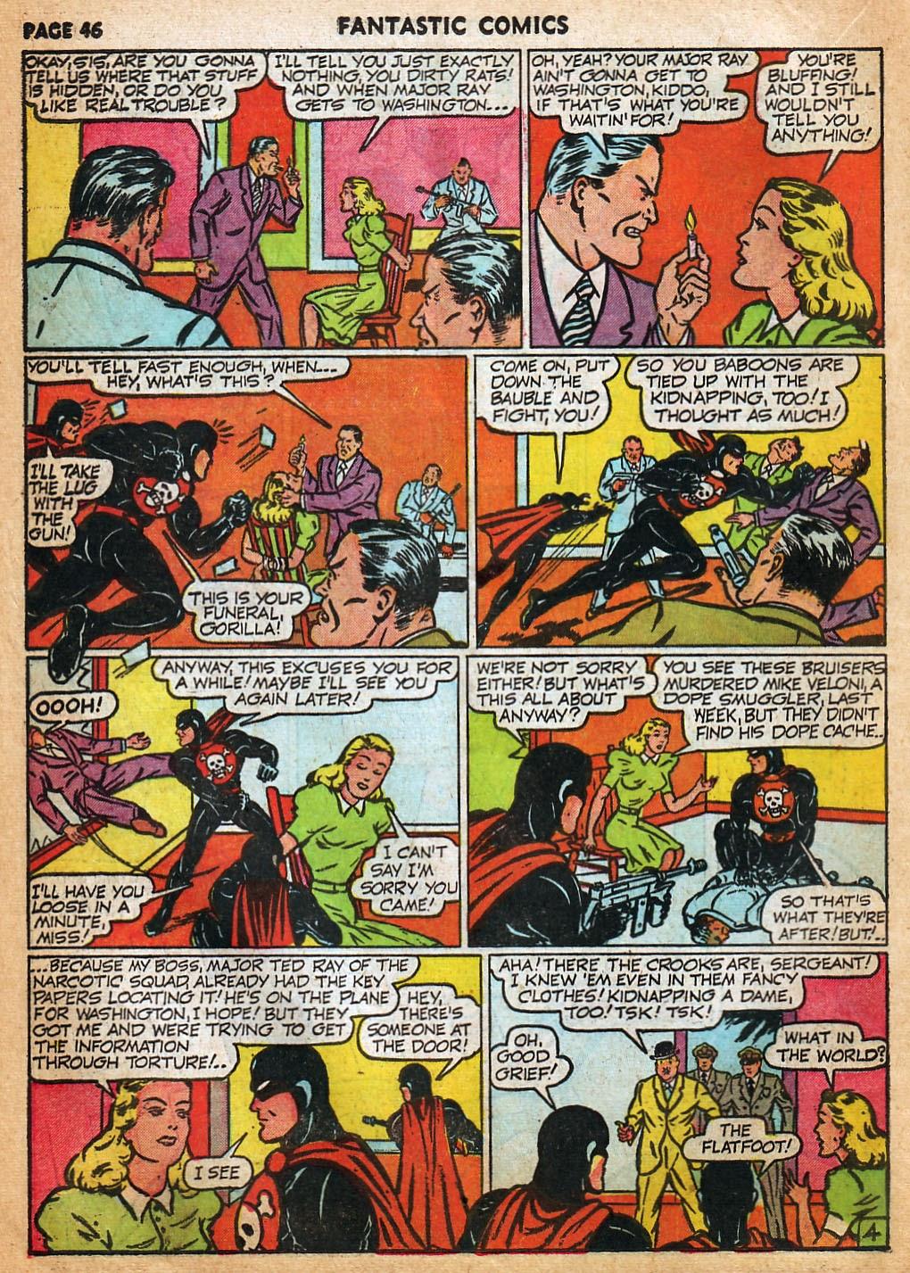 Read online Fantastic Comics comic -  Issue #22 - 47