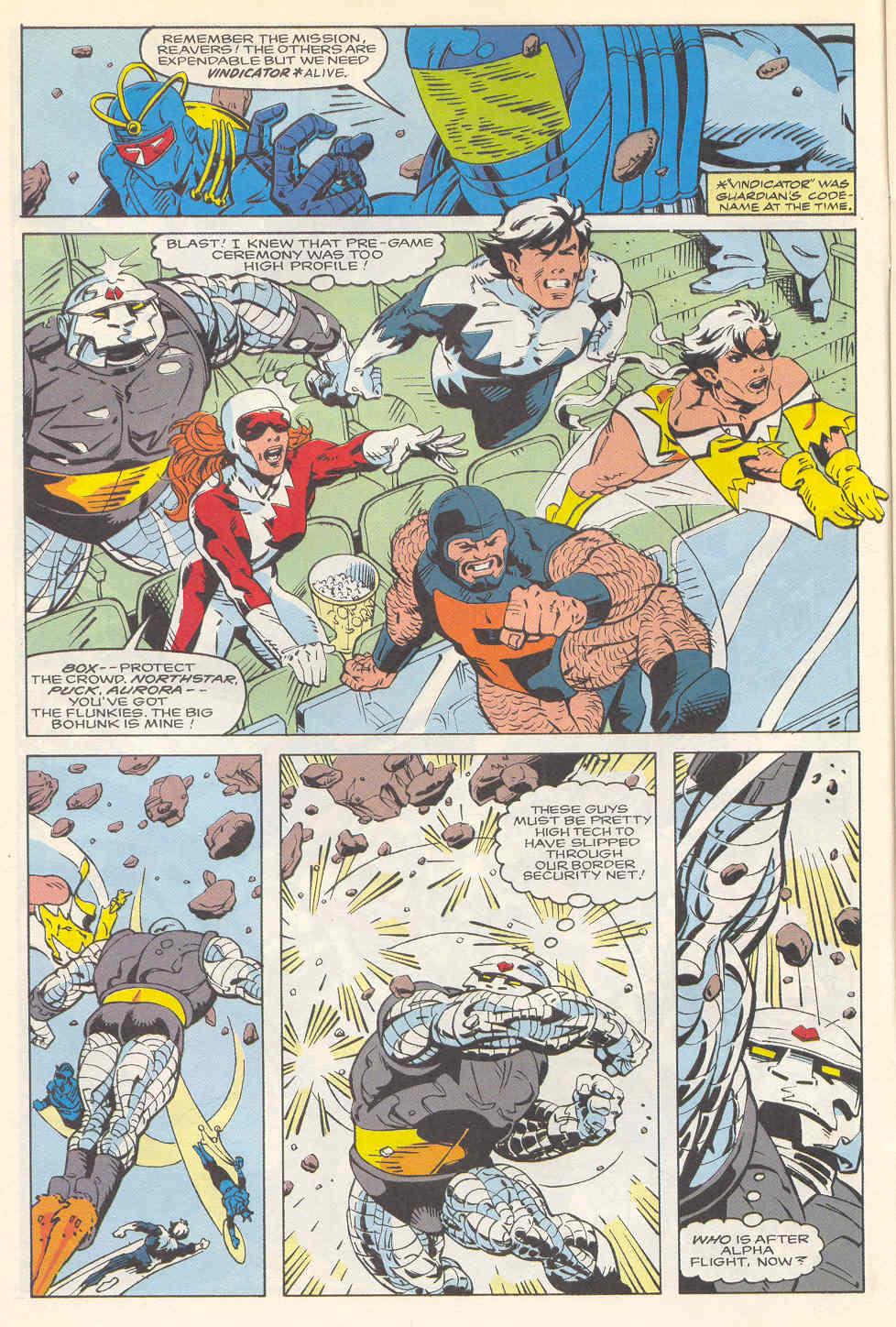 Read online Alpha Flight (1983) comic -  Issue #113 - 5