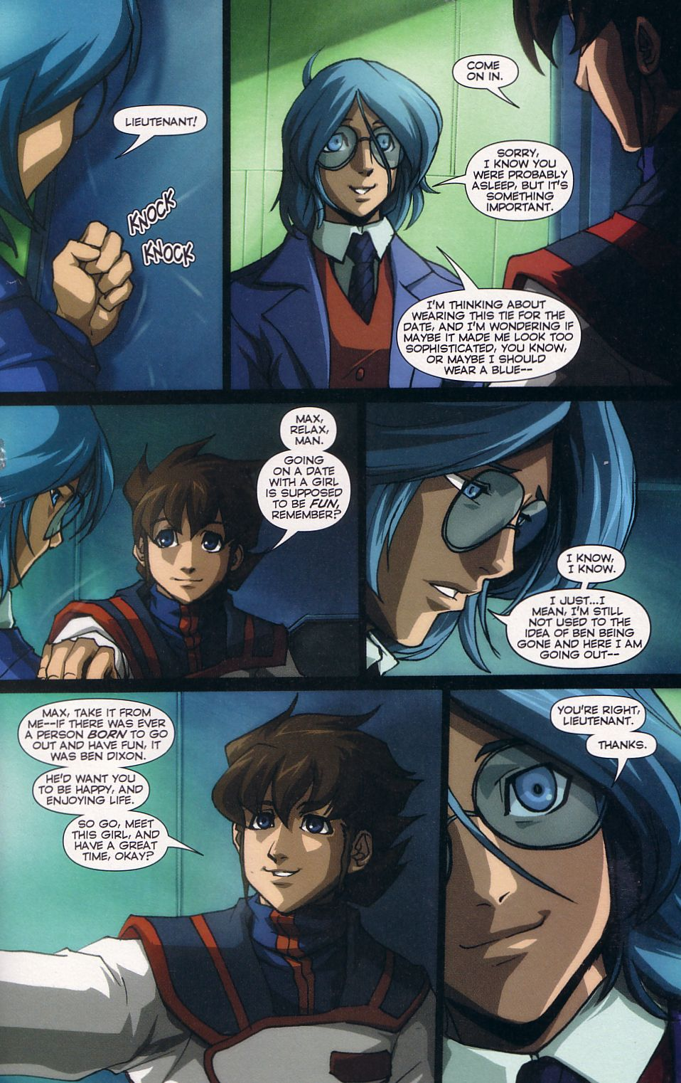 Read online Robotech: Love and War comic -  Issue #5 - 15