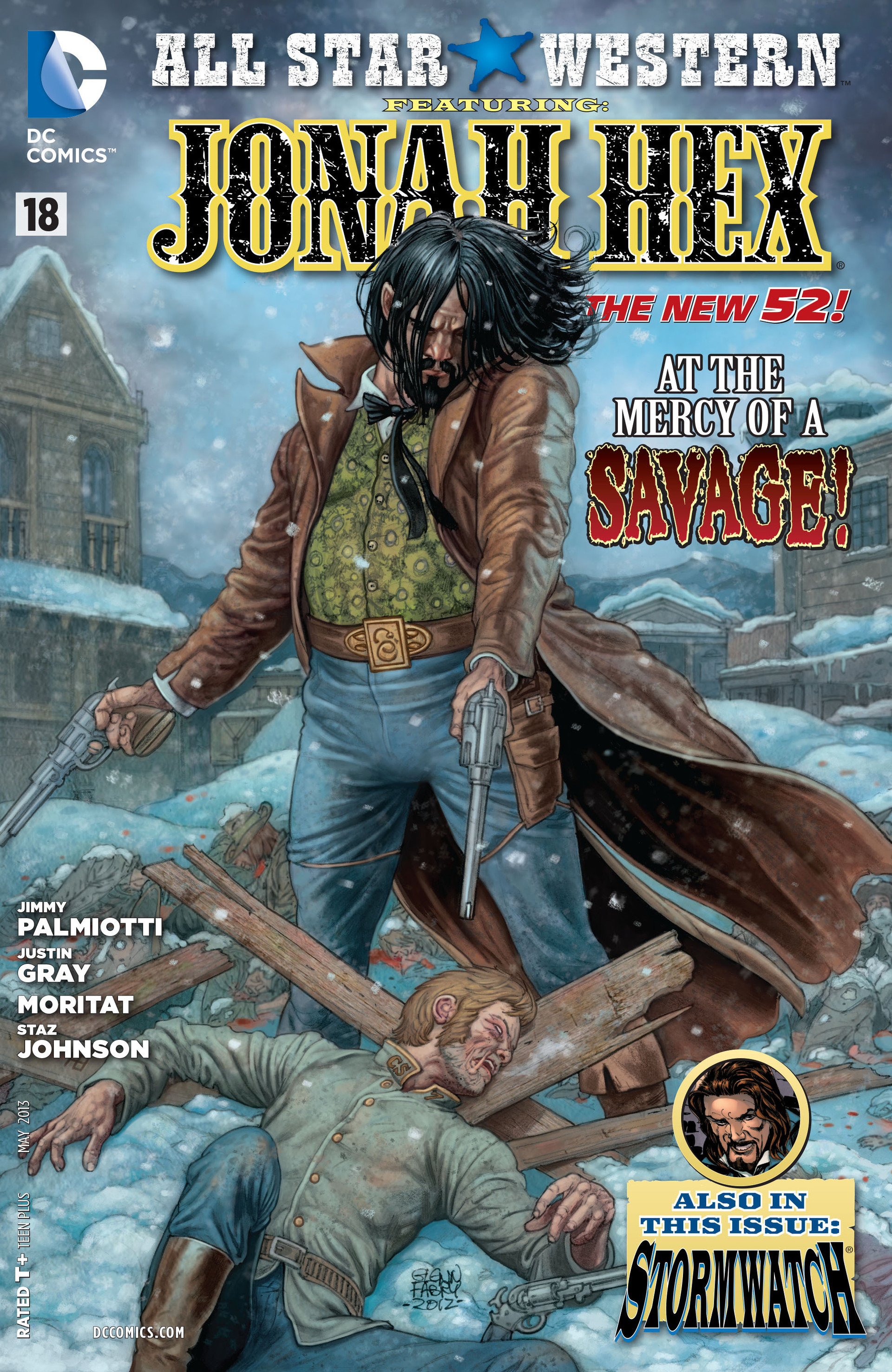 Read online All-Star Western (2011) comic -  Issue #18 - 1