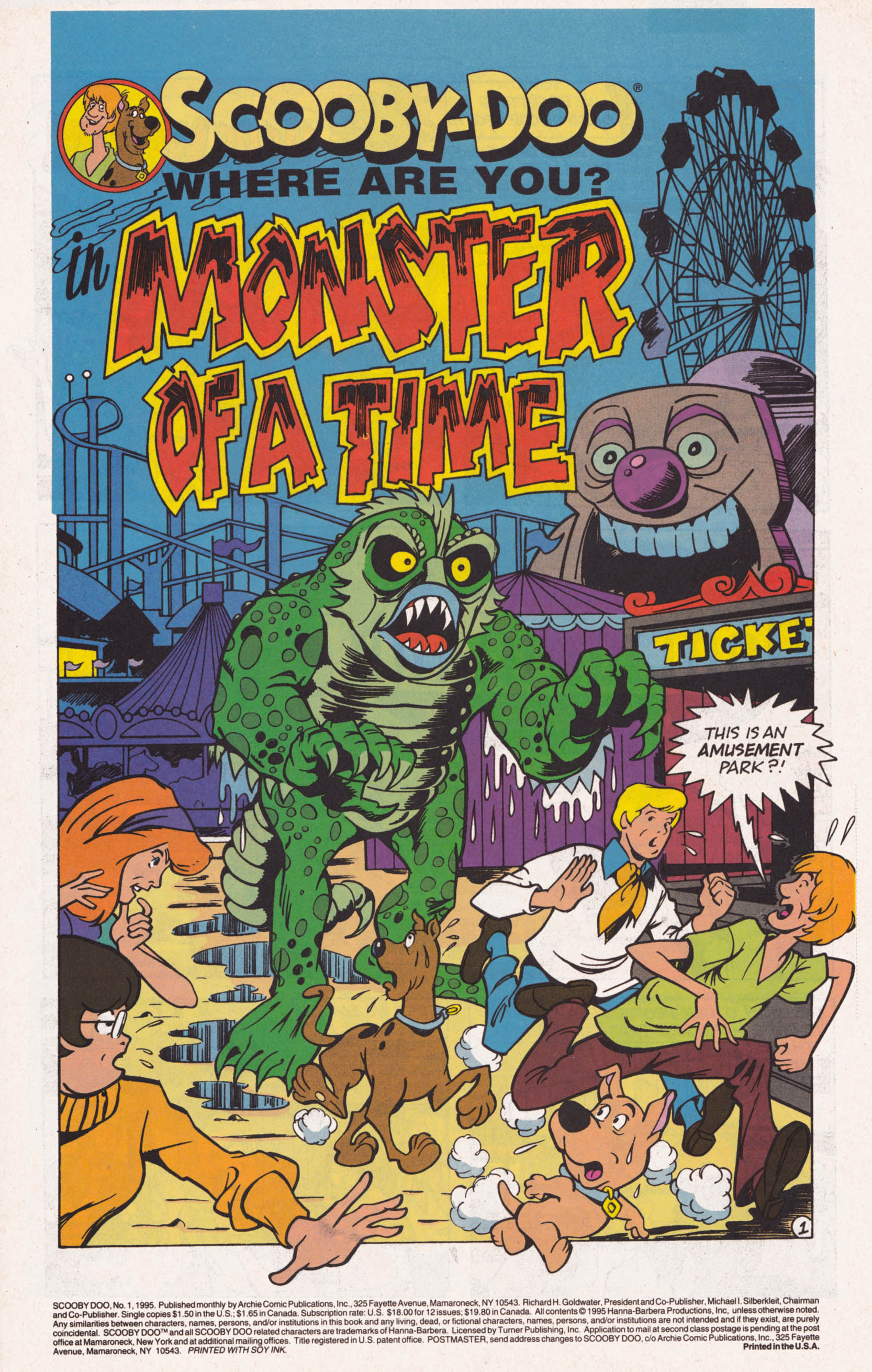 Read online Scooby-Doo (1995) comic -  Issue #1 - 2