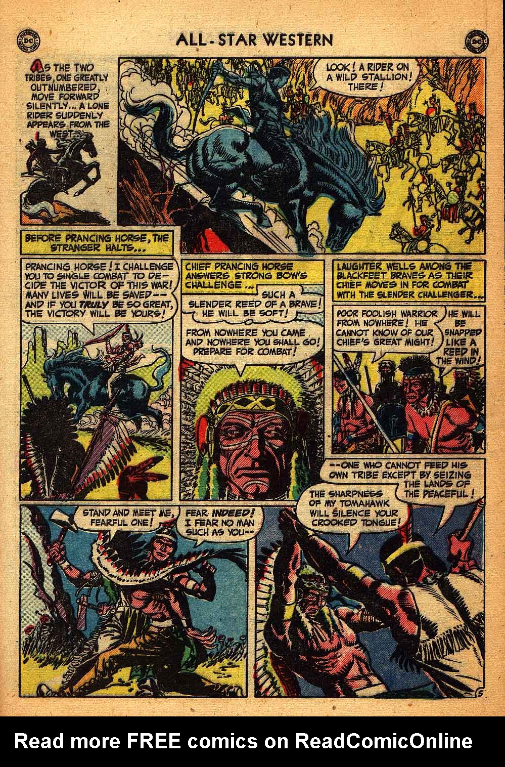 Read online All-Star Western (1951) comic -  Issue #58 - 43