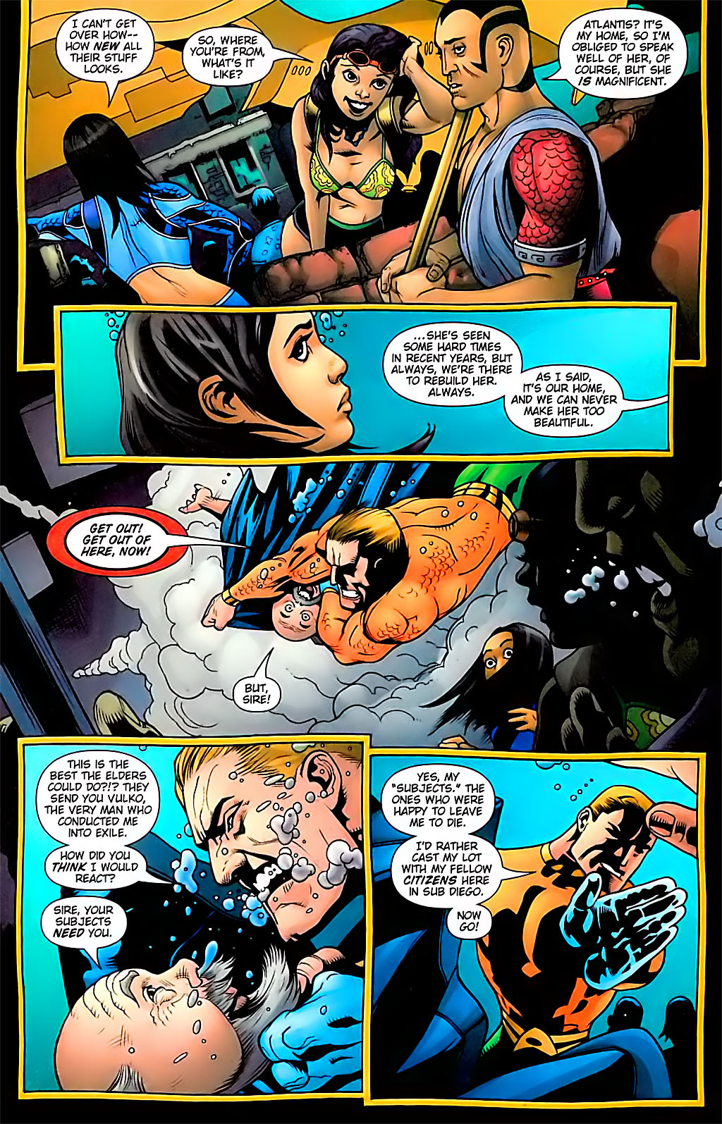 Read online Aquaman (2003) comic -  Issue #29 - 9
