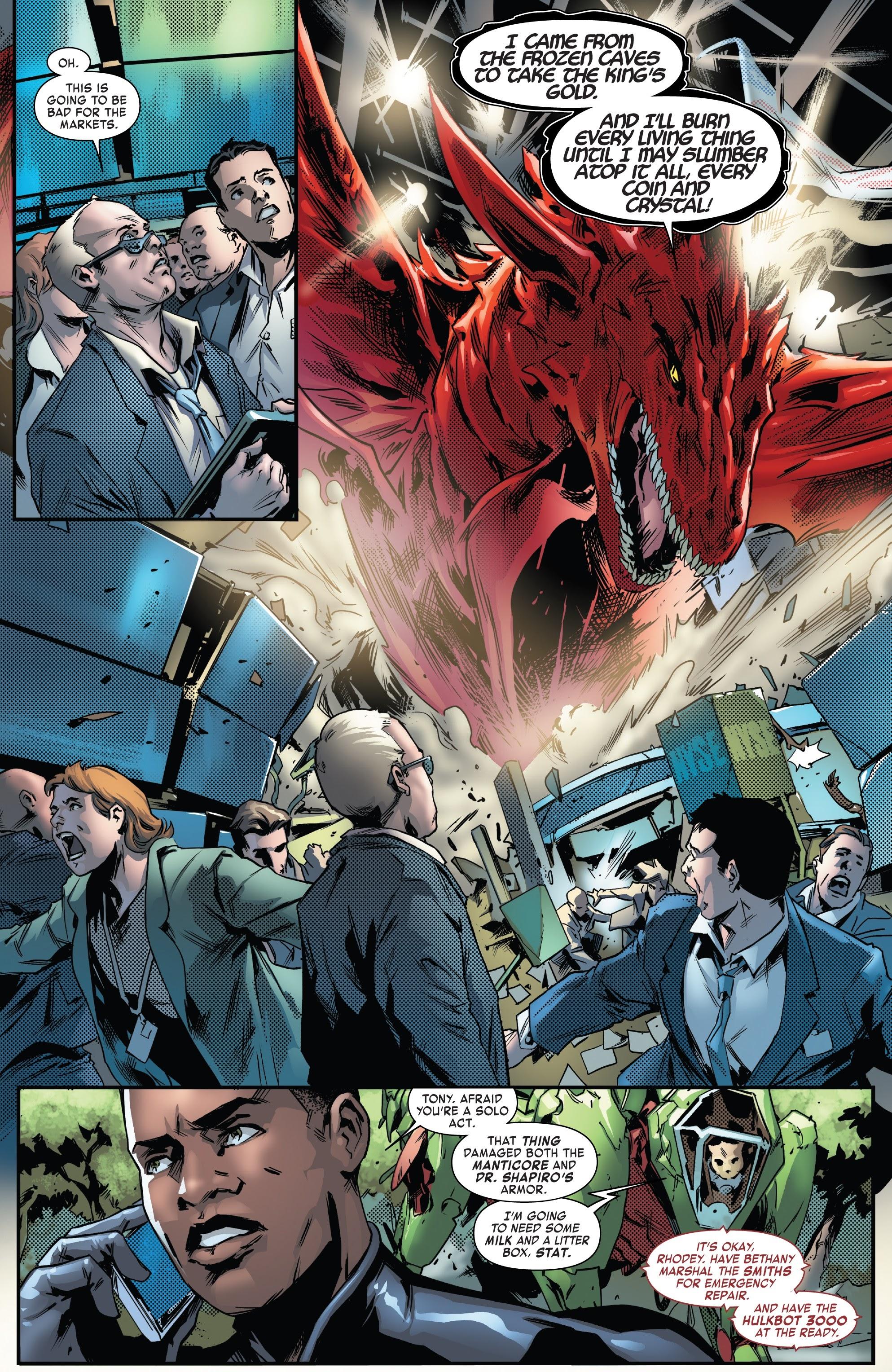 Read online Tony Stark: Iron Man comic -  Issue #13 - 10