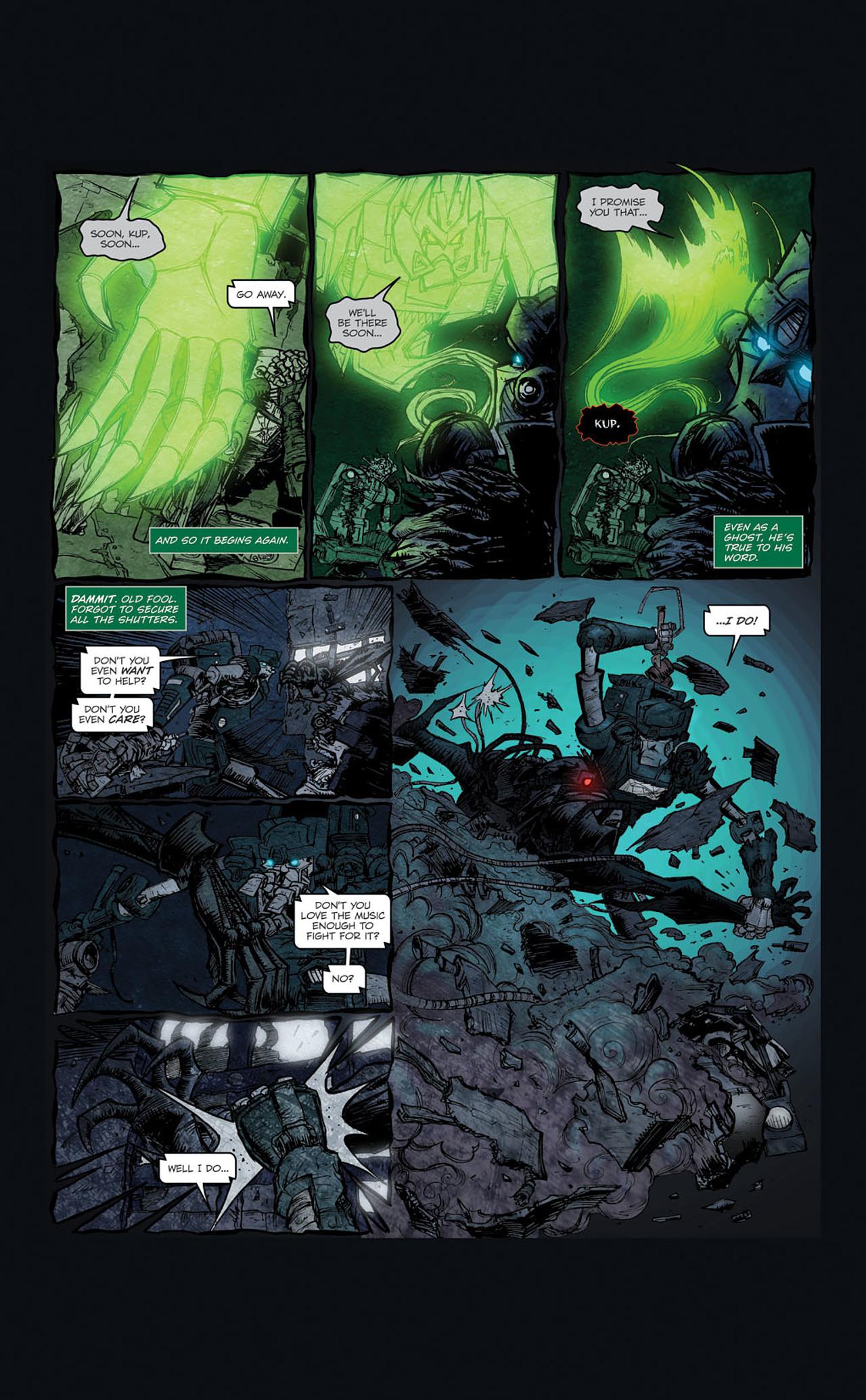 Read online Transformers Spotlight: Kup comic -  Issue # Full - 16