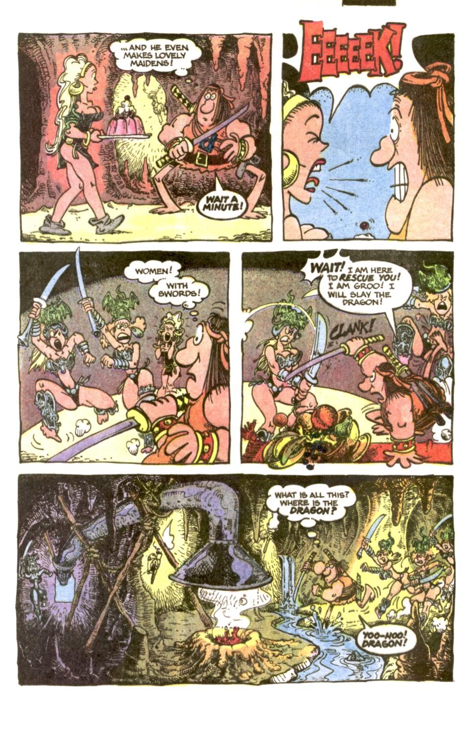Read online Sergio Aragonés Groo the Wanderer comic -  Issue #2 - 15