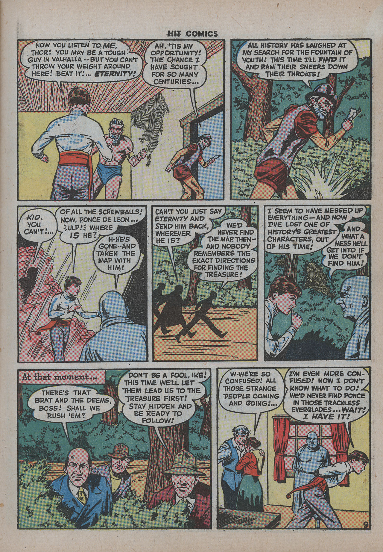 Read online Hit Comics comic -  Issue #38 - 14