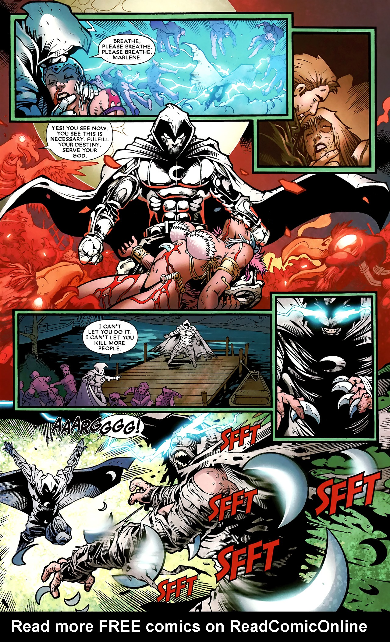Read online Shadowland: Moon Knight comic -  Issue #3 - 19