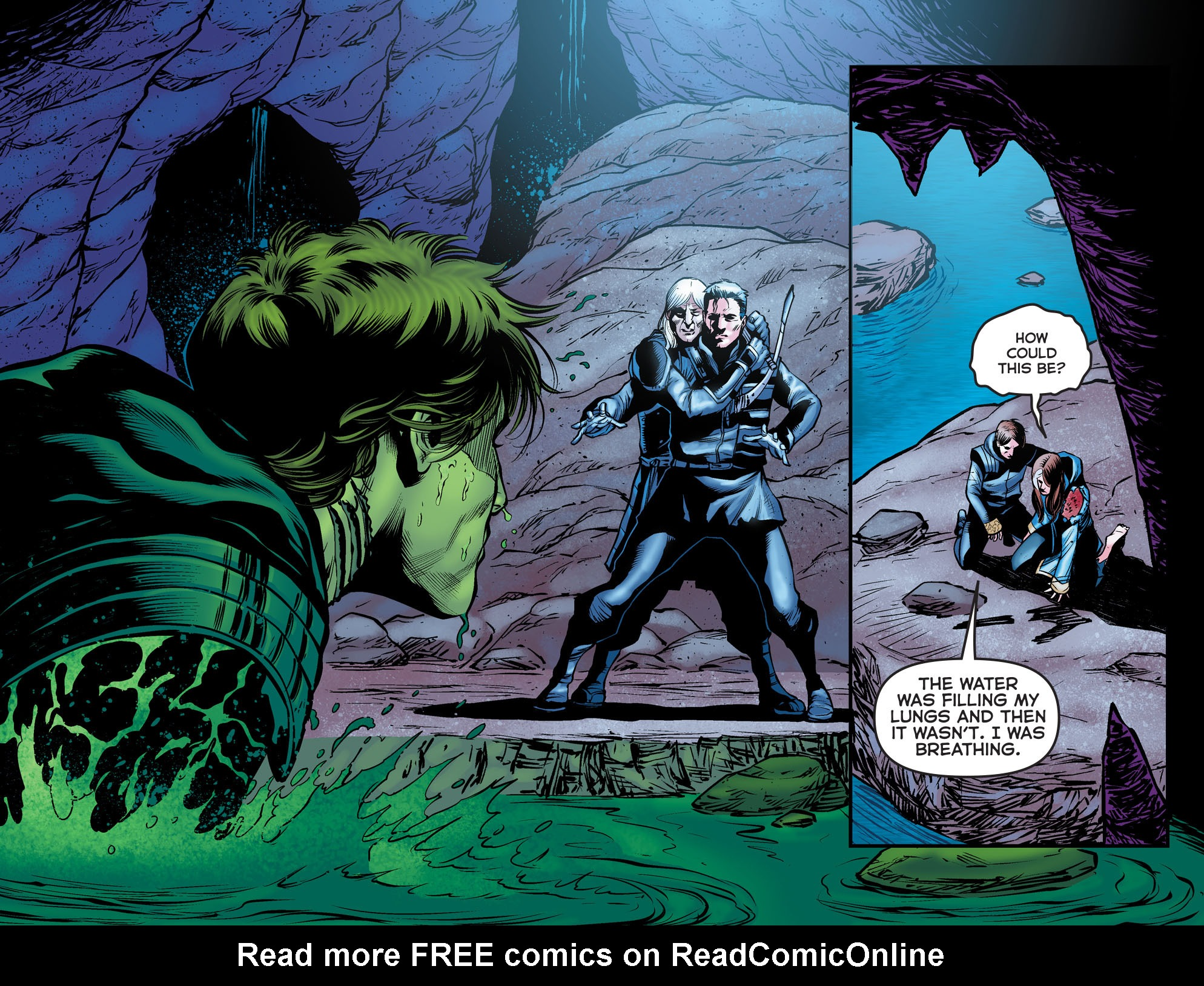 Read online Arrow: The Dark Archer comic -  Issue #11 - 9