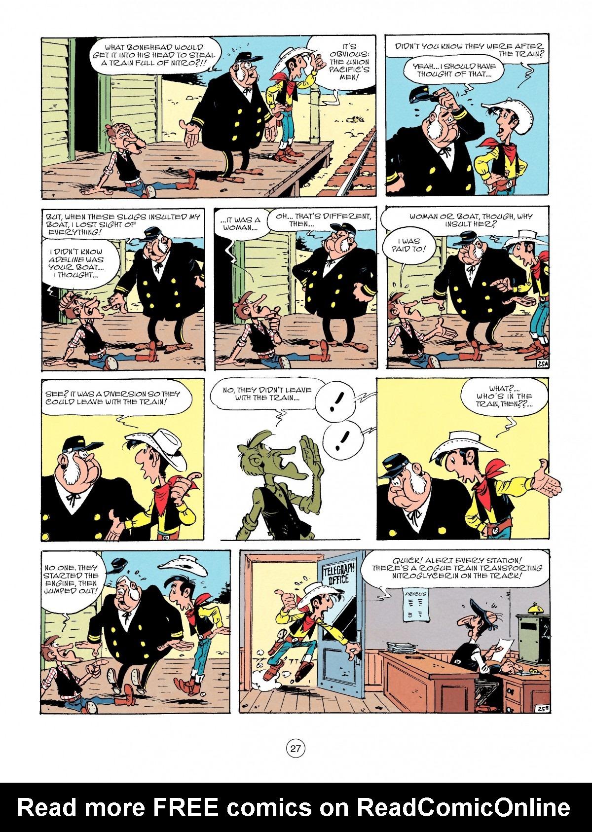 Read online A Lucky Luke Adventure comic -  Issue #53 - 27