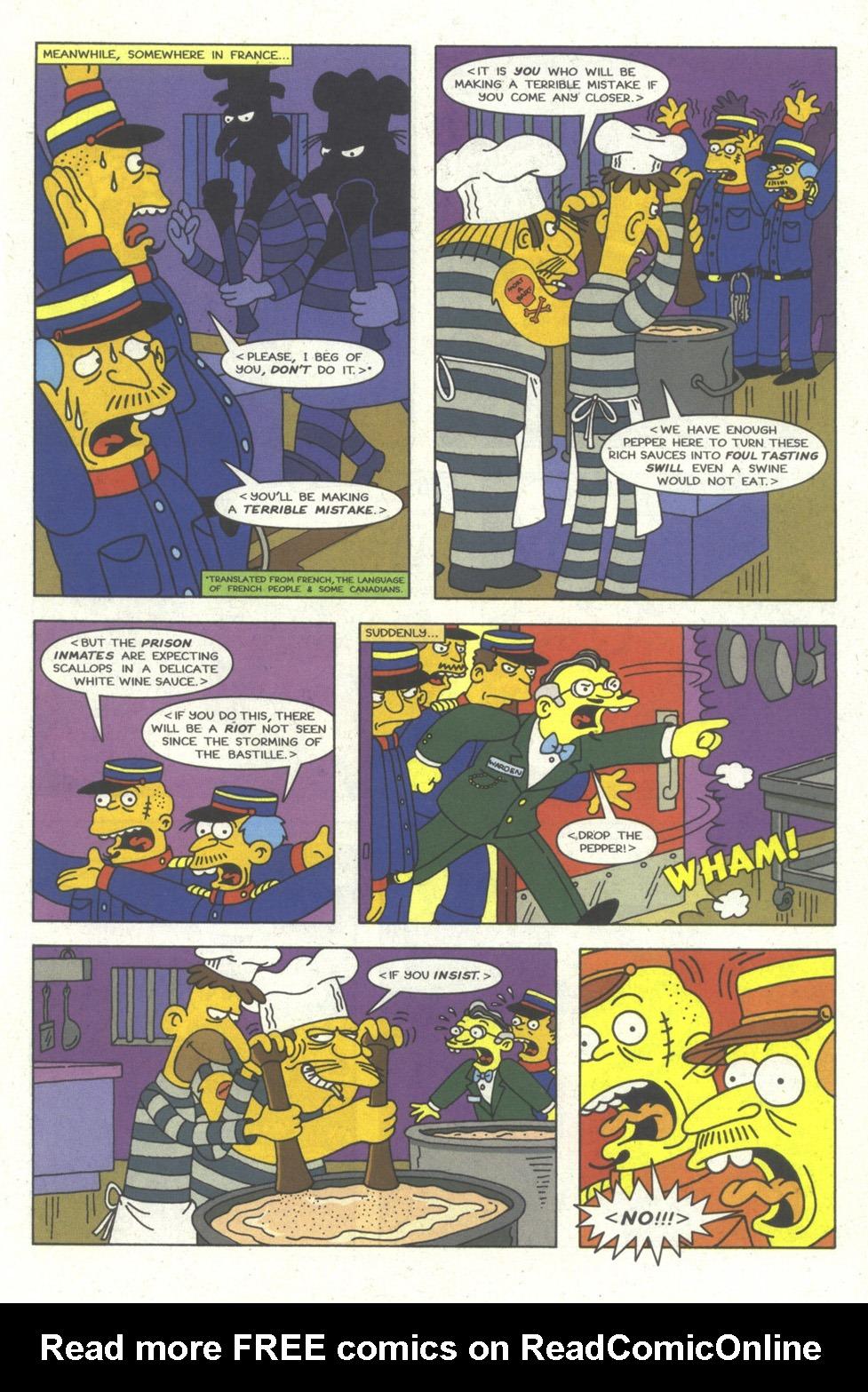 Read online Simpsons Comics comic -  Issue #23 - 8