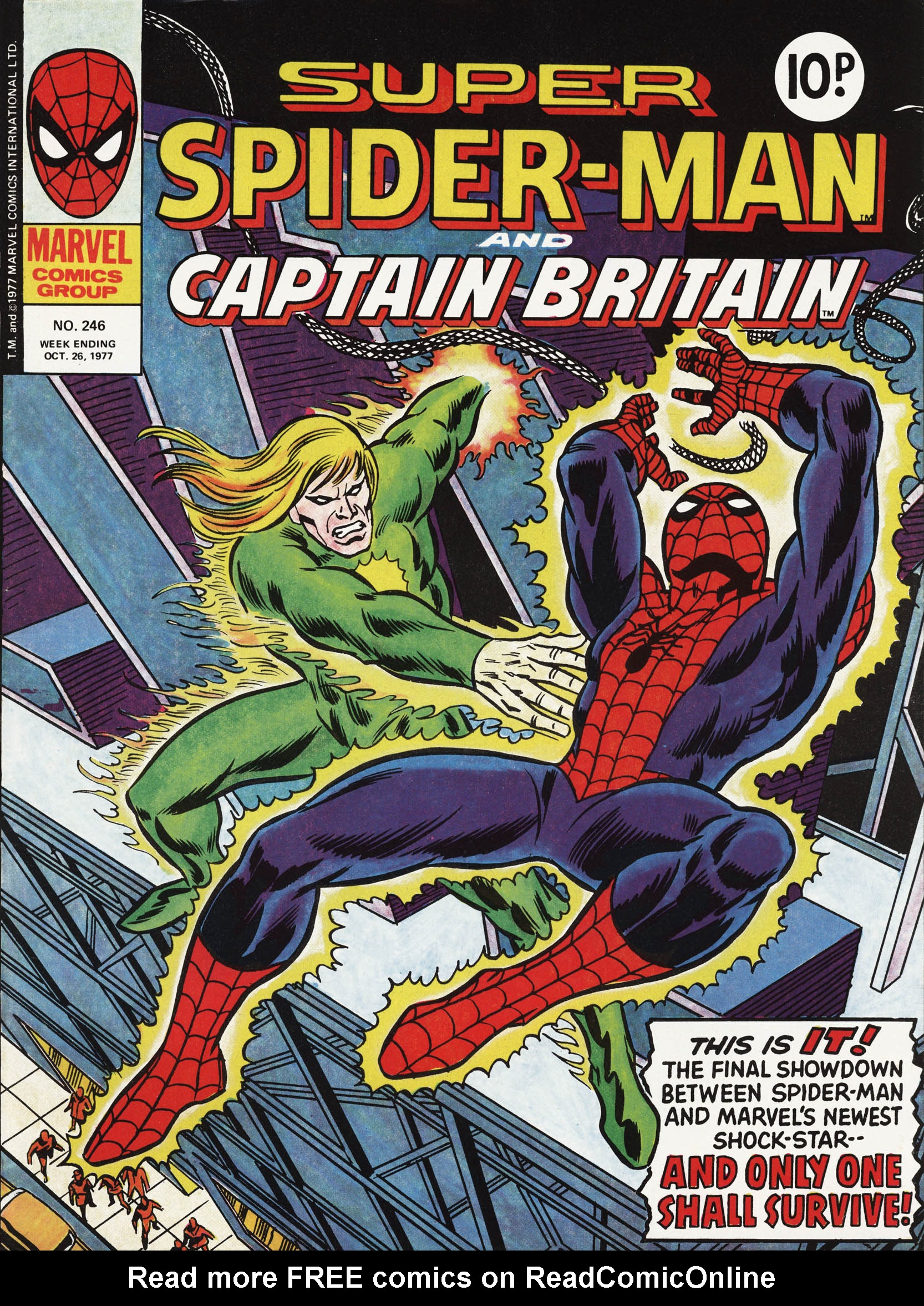 Super Spider-Man and Captain Britain 246 Page 1