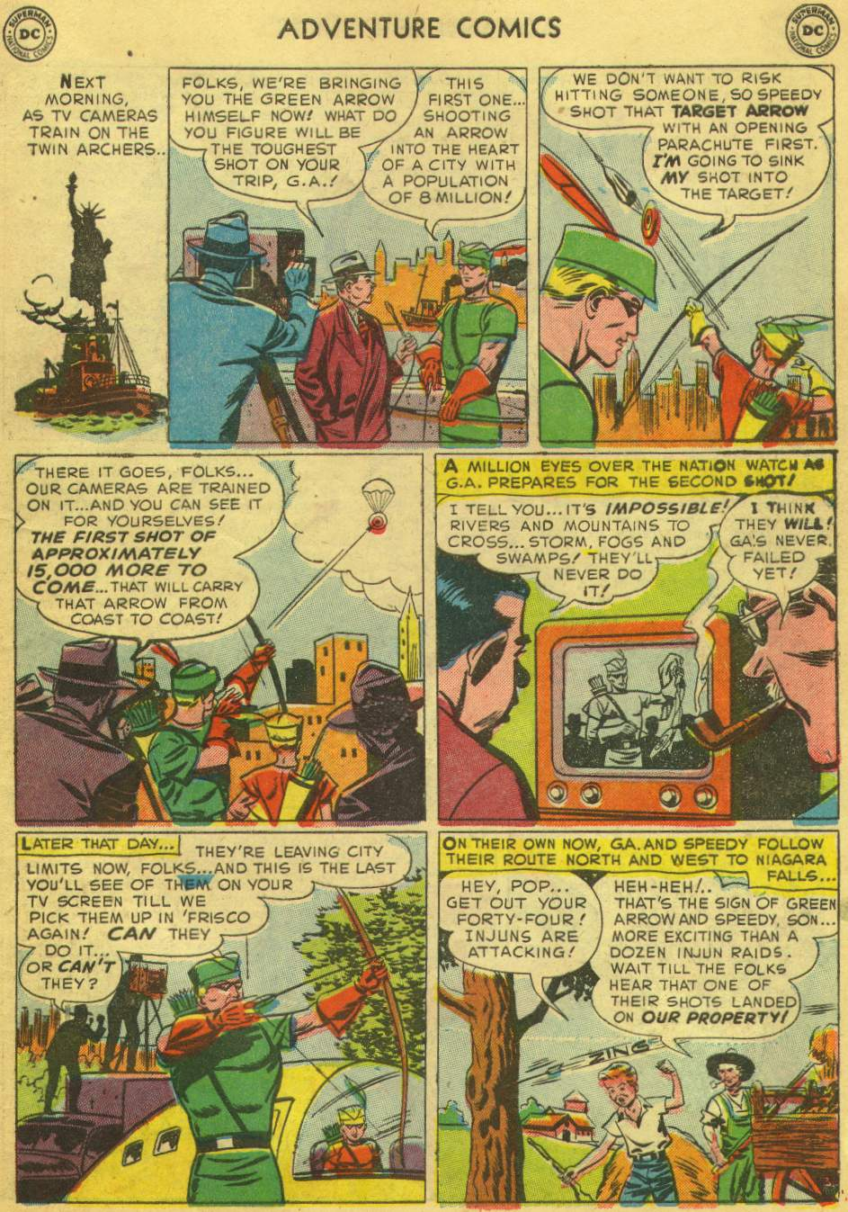 Read online Adventure Comics (1938) comic -  Issue #168 - 37